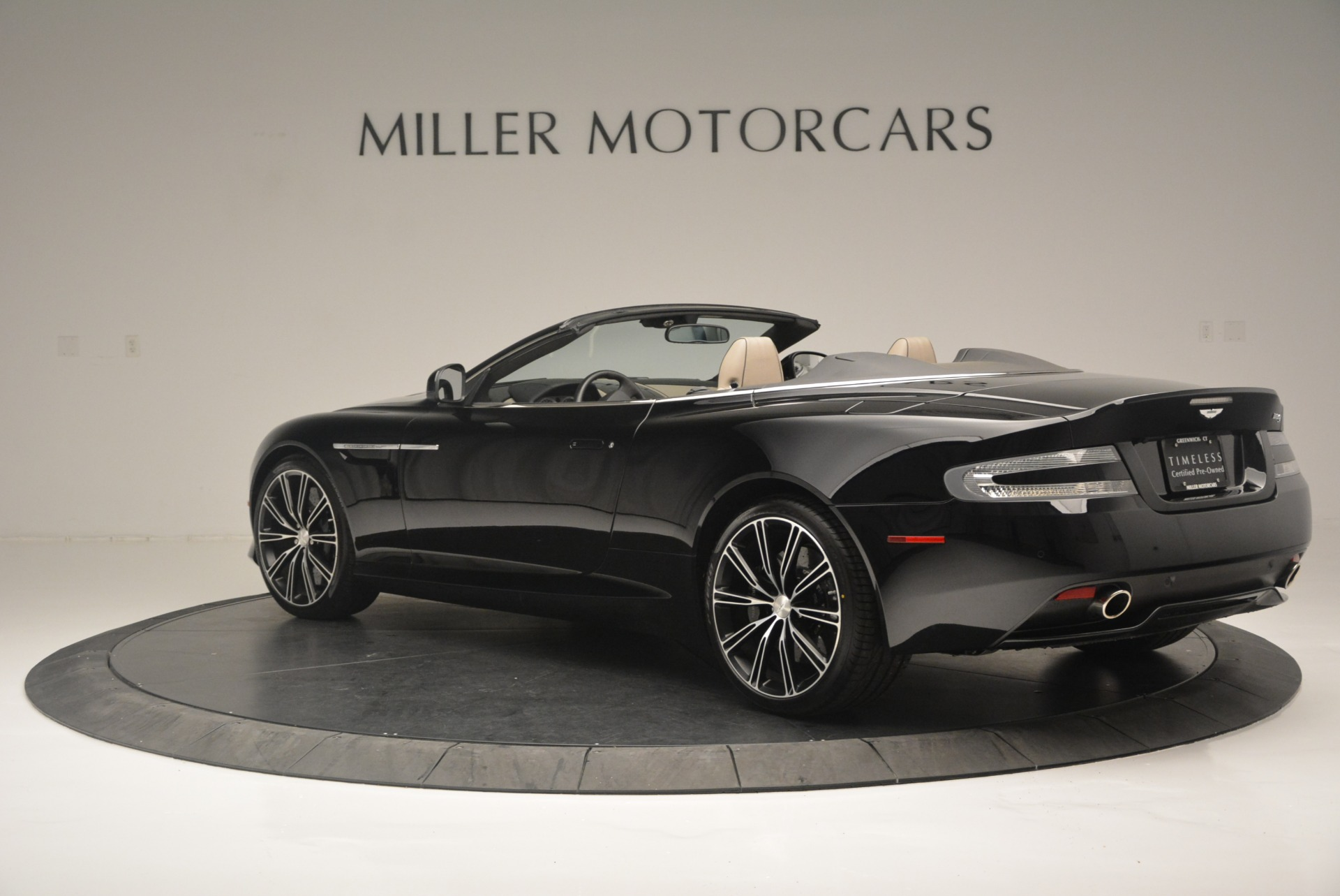 Used 2015 Aston Martin DB9 Volante For Sale In Westport, CT 2318_p4