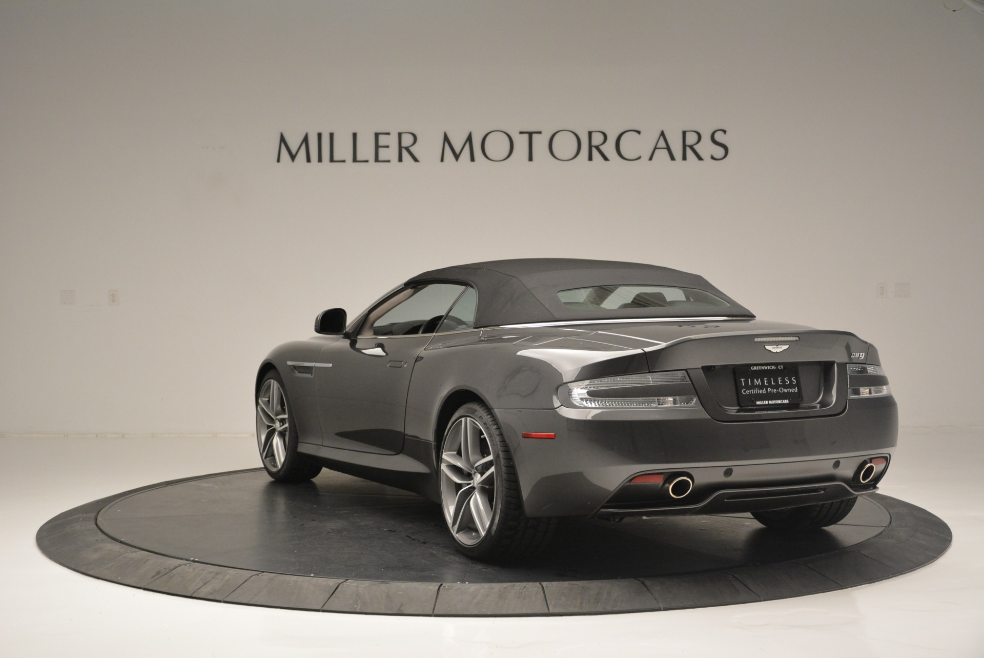 Used 2014 Aston Martin DB9 Volante For Sale In Westport, CT 2319_p17