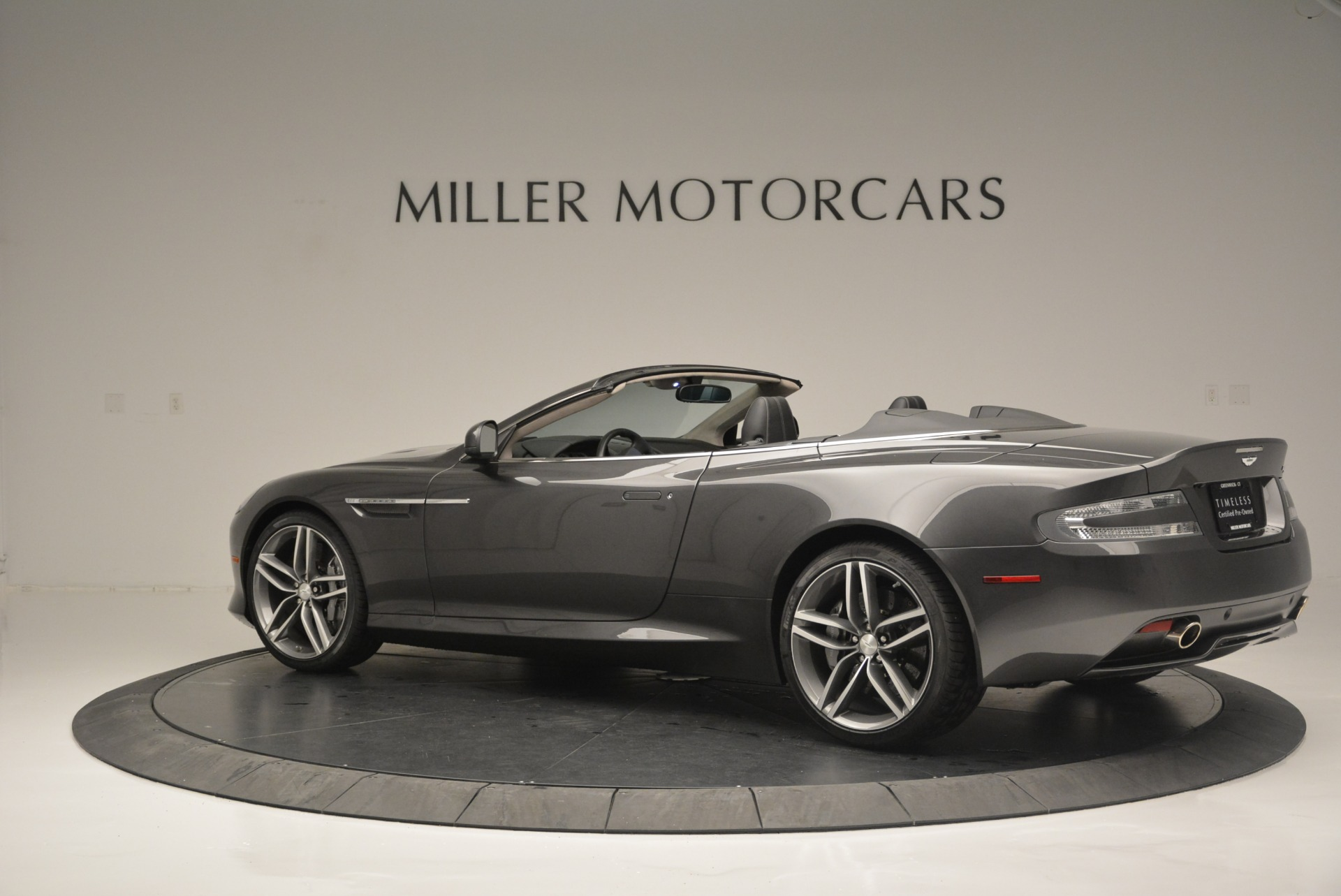 Used 2014 Aston Martin DB9 Volante For Sale In Westport, CT 2319_p4