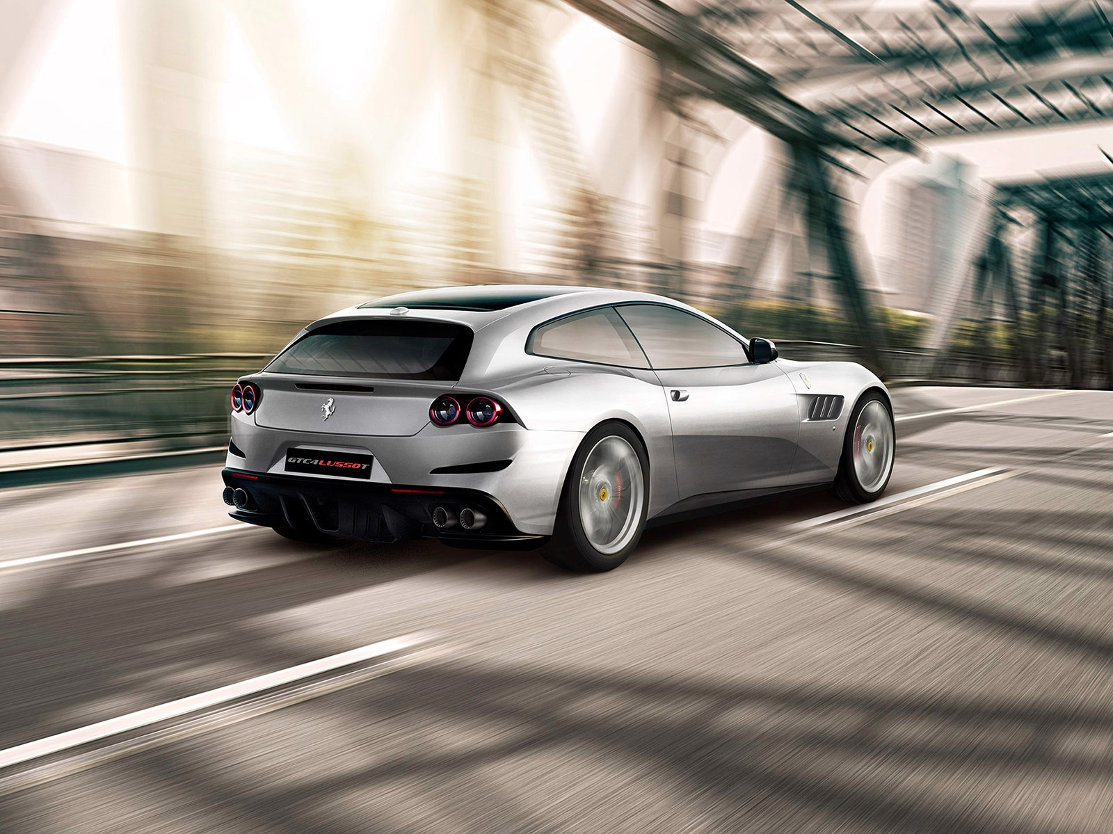 New 2019 Ferrari GTC4LUSSO T  For Sale In Westport, CT 232_p4
