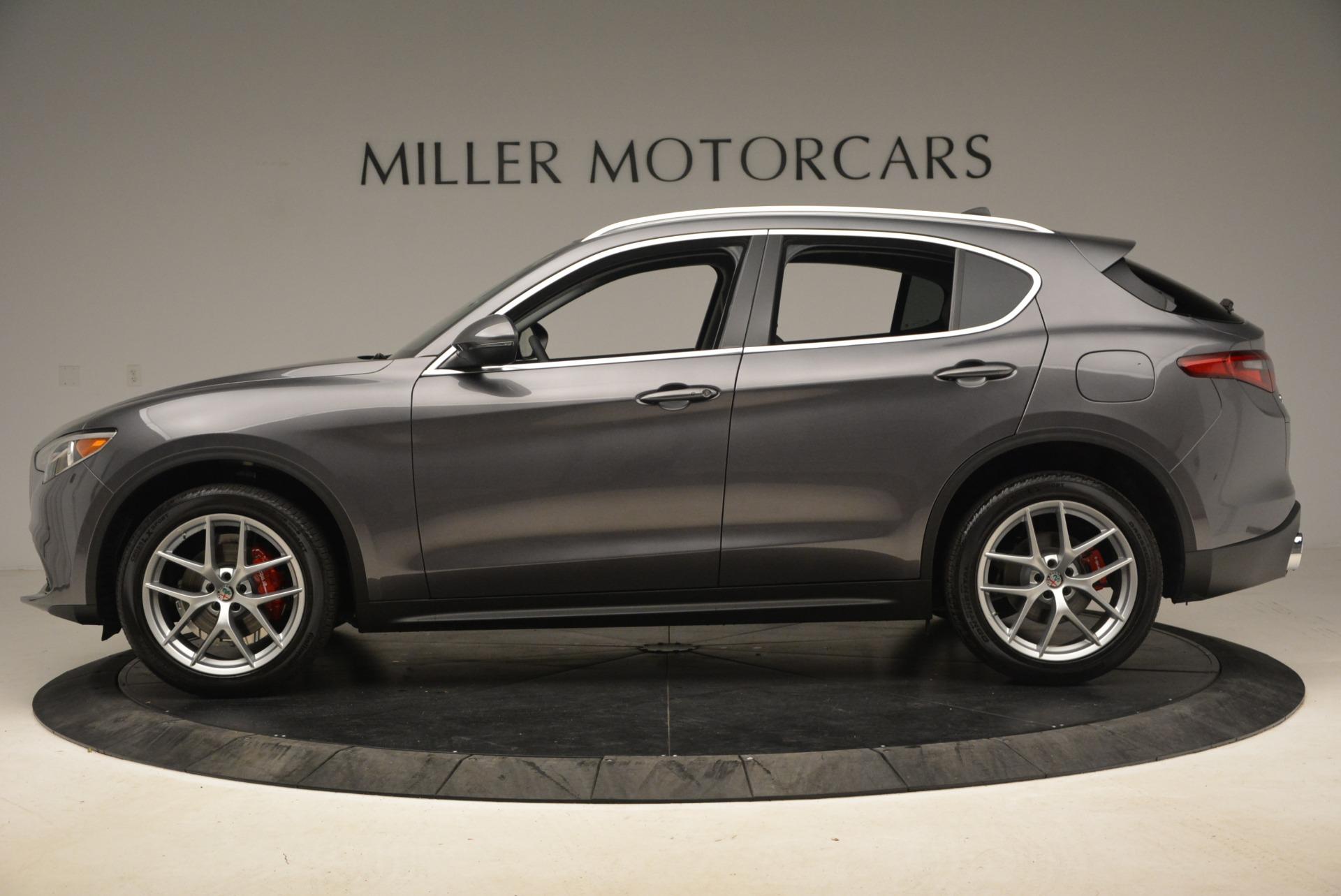 New 2018 Alfa Romeo Stelvio Ti Q4 For Sale In Westport, CT 2320_p3