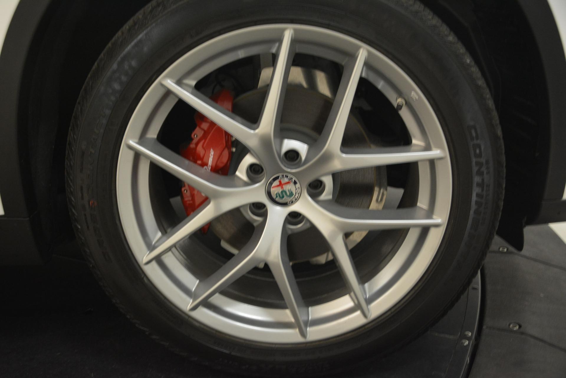 New 2018 Alfa Romeo Stelvio Ti Sport Q4 For Sale In Westport, CT 2323_p13