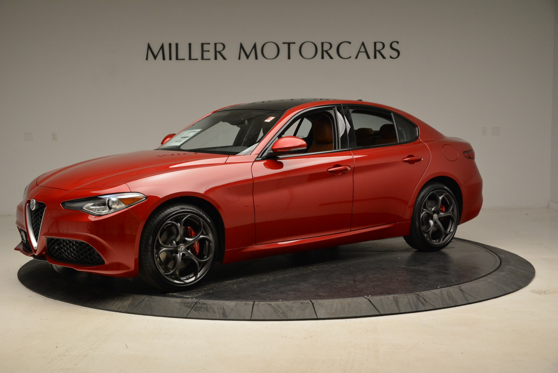 New 2018 Alfa Romeo Giulia Ti Sport Q4 For Sale In Westport, CT 2328_p2