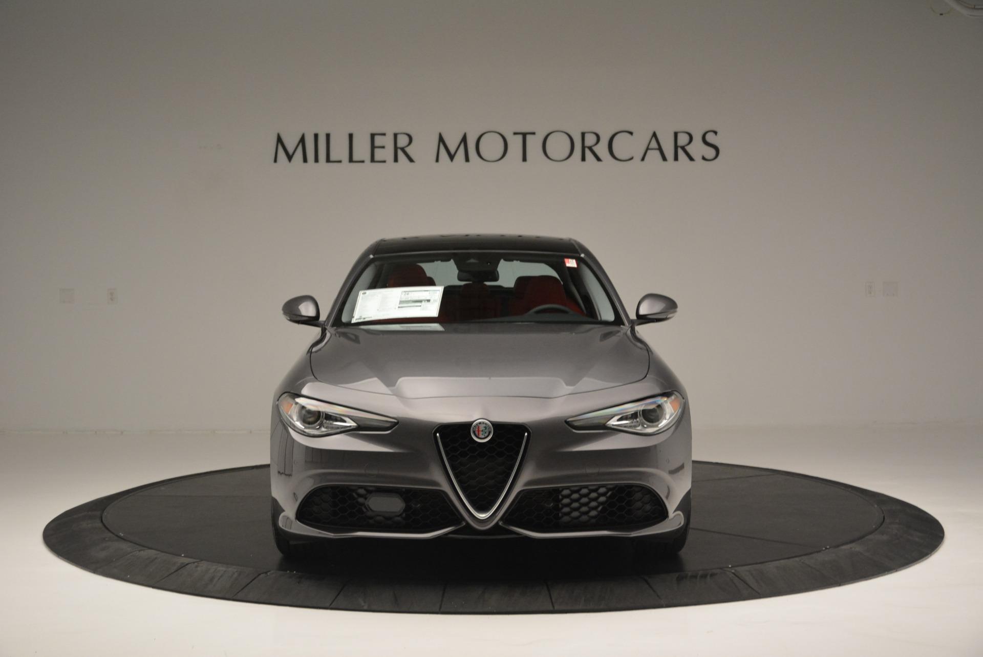 New 2018 Alfa Romeo Giulia Ti Sport Q4 For Sale In Westport, CT 2332_p12
