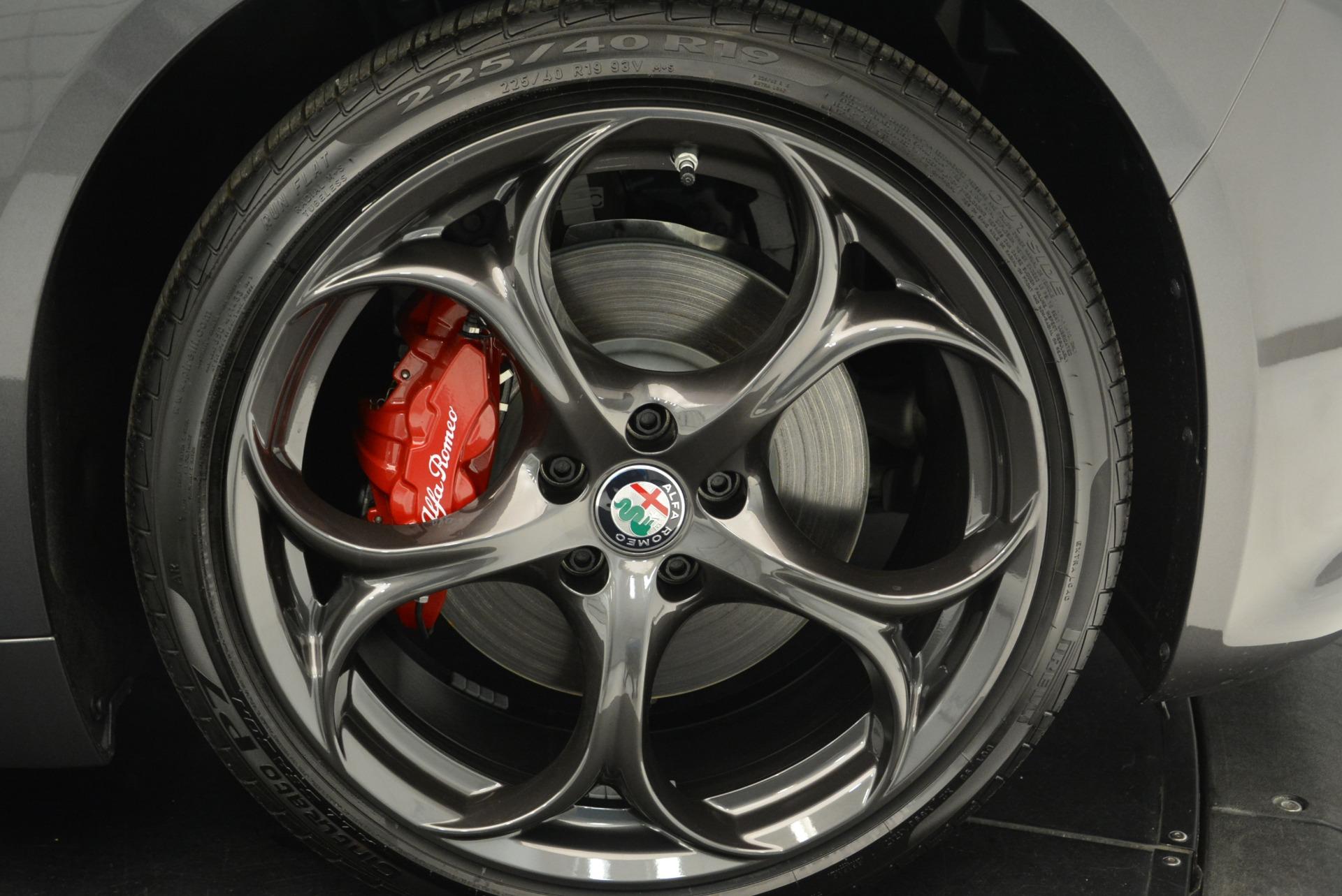 New 2018 Alfa Romeo Giulia Ti Sport Q4 For Sale In Westport, CT 2332_p25