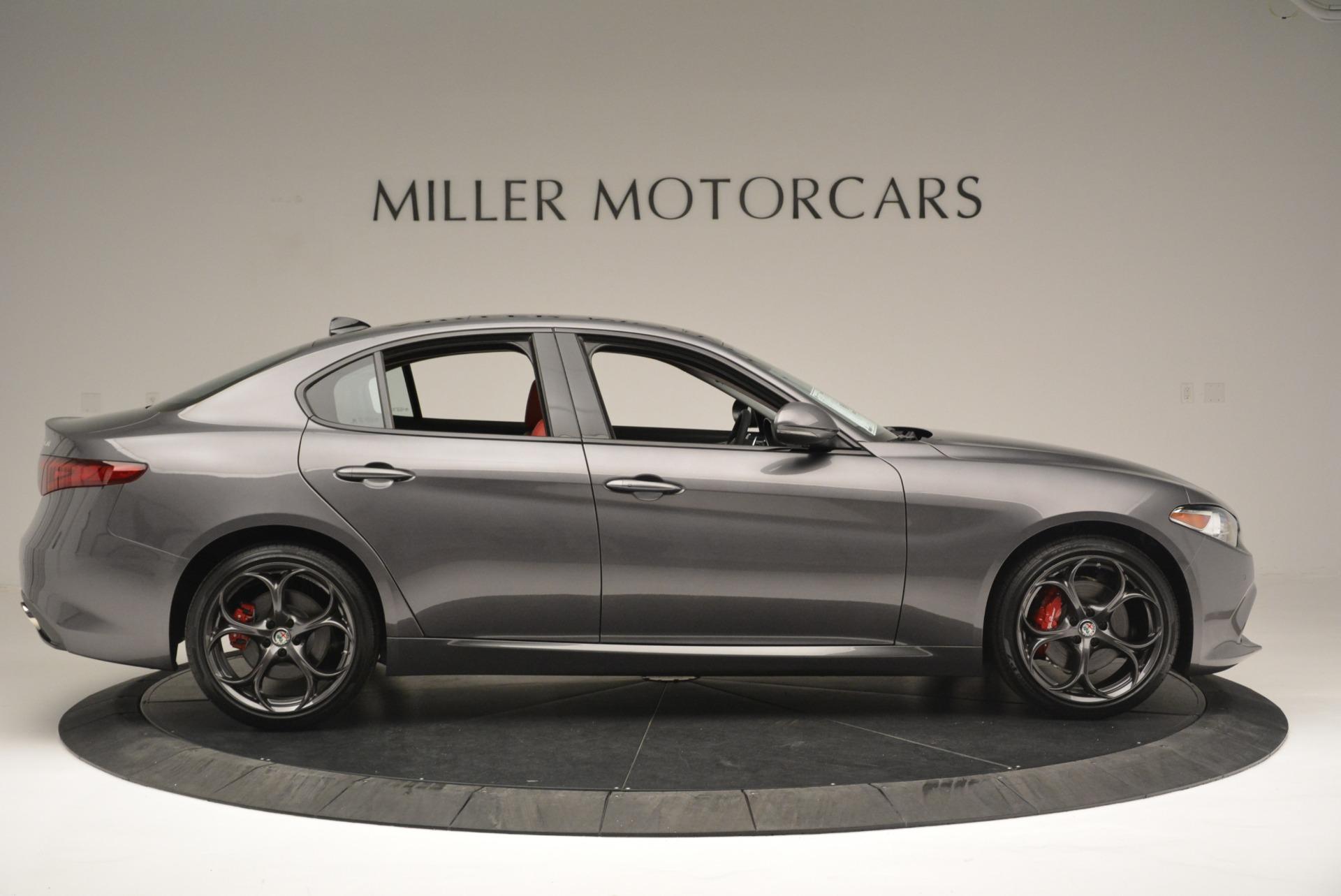 New 2018 Alfa Romeo Giulia Ti Sport Q4 For Sale In Westport, CT 2332_p9