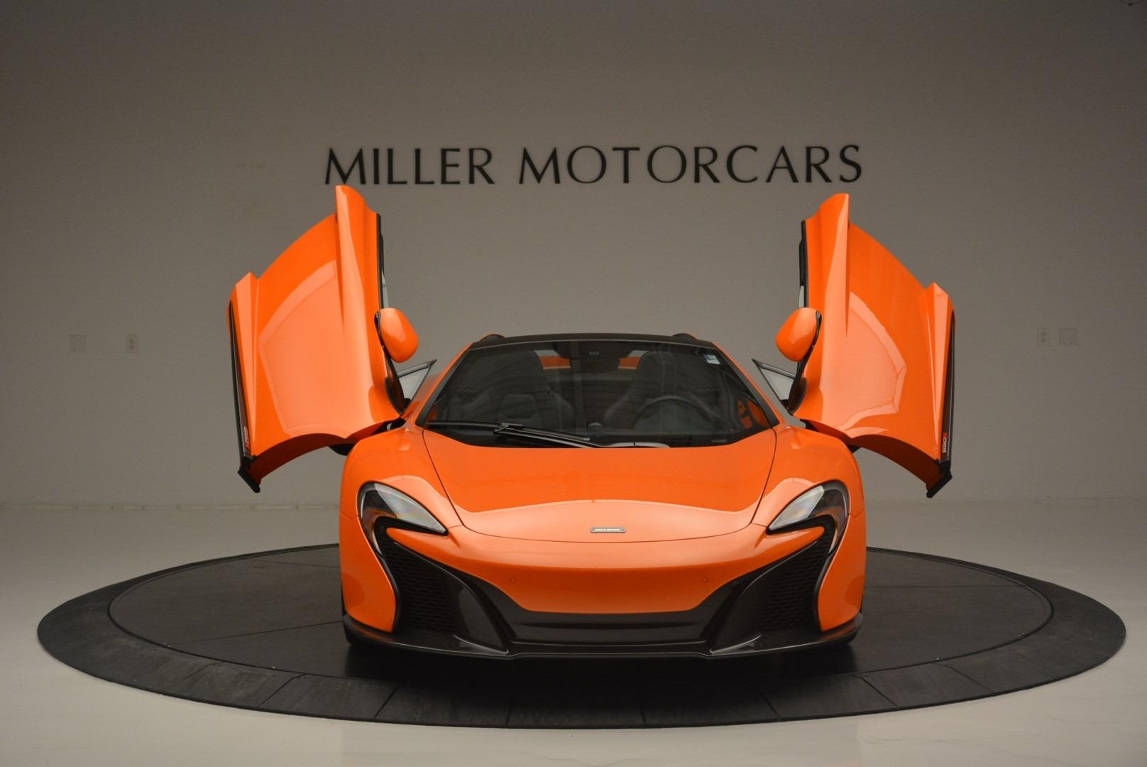 Used 2015 McLaren 650S Spider For Sale In Westport, CT 2338_p13