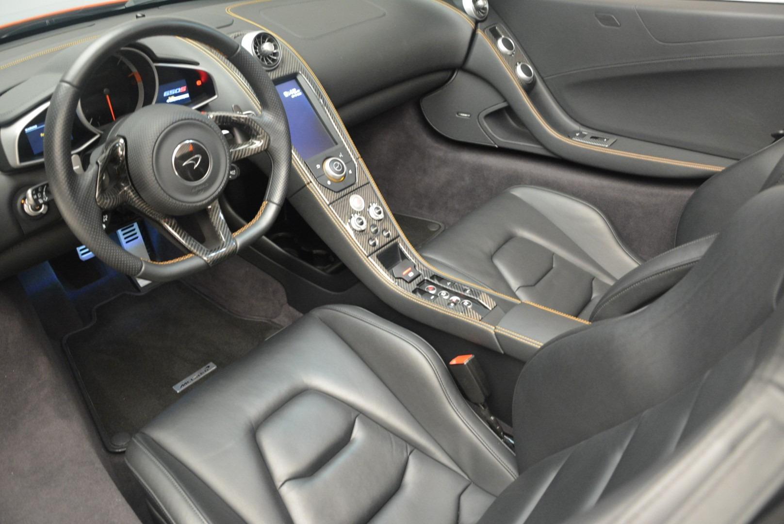 Used 2015 McLaren 650S Spider For Sale In Westport, CT 2338_p22