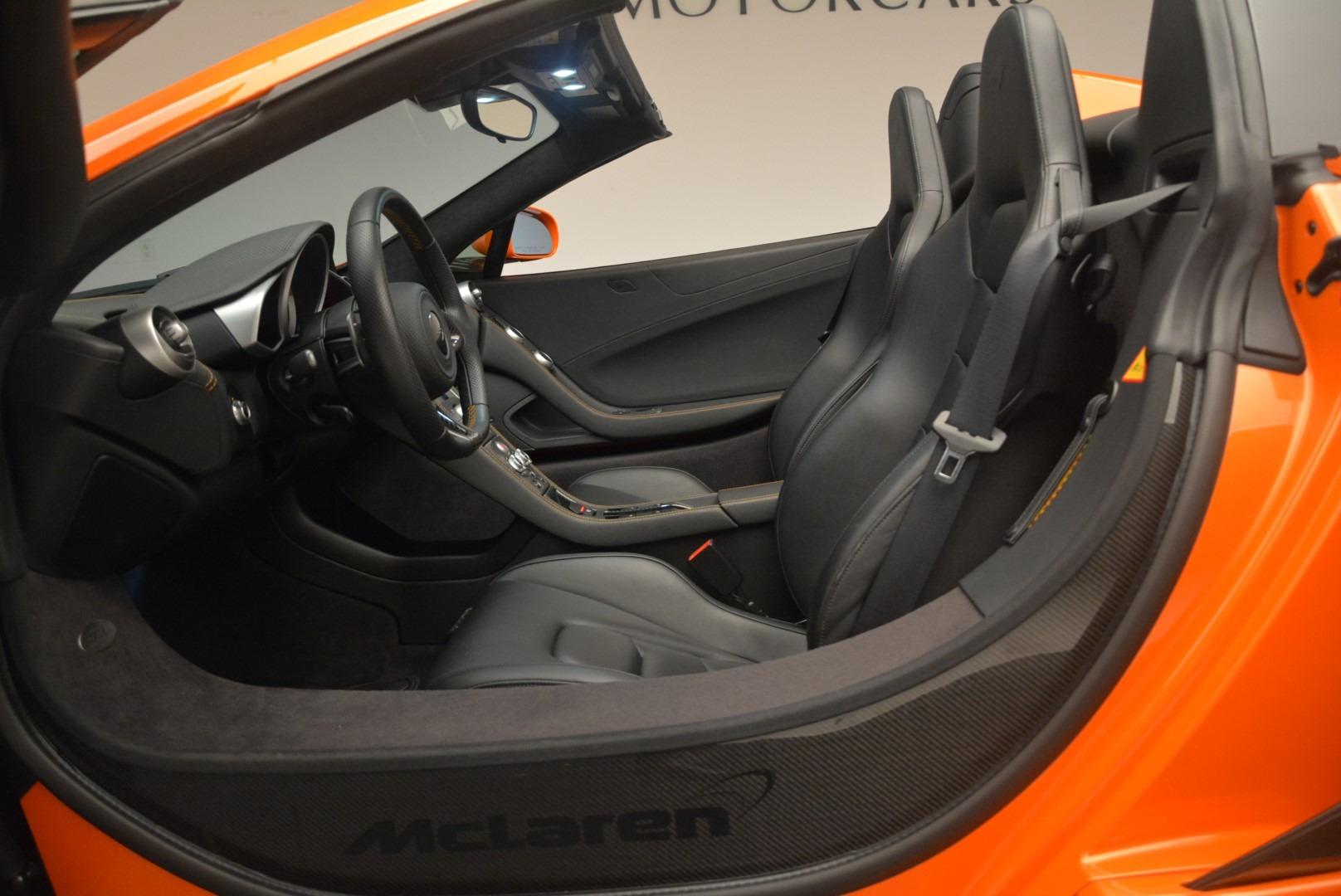 Used 2015 McLaren 650S Spider For Sale In Westport, CT 2338_p23