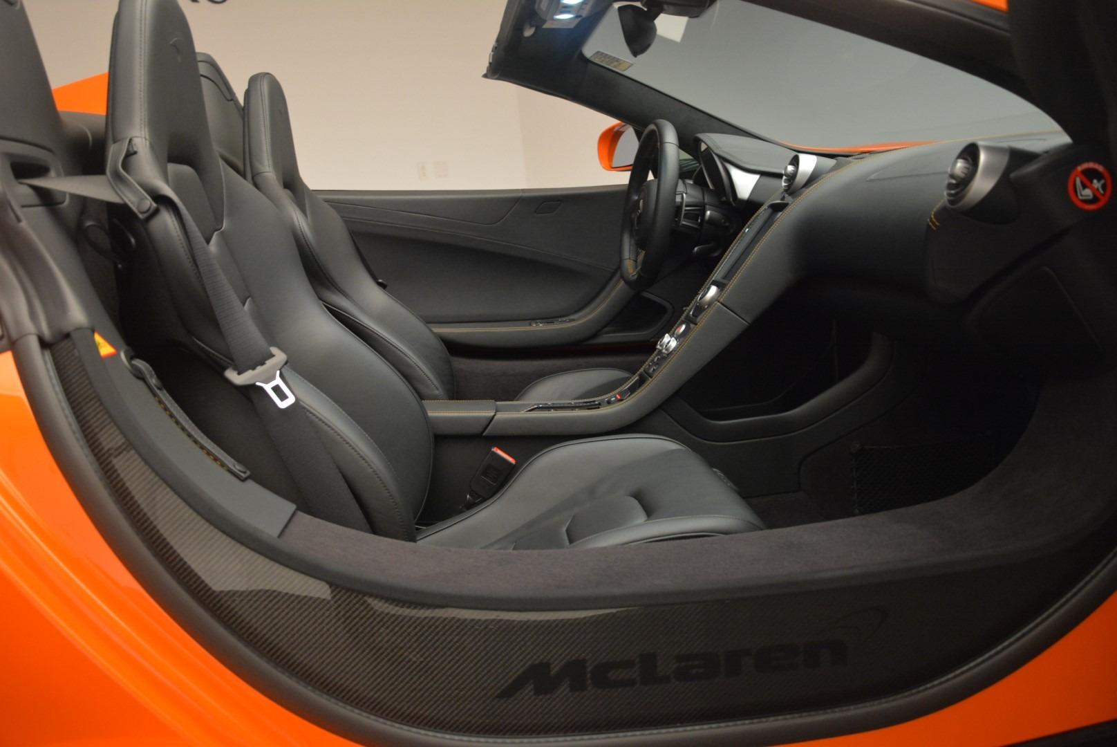 Used 2015 McLaren 650S Spider For Sale In Westport, CT 2338_p26