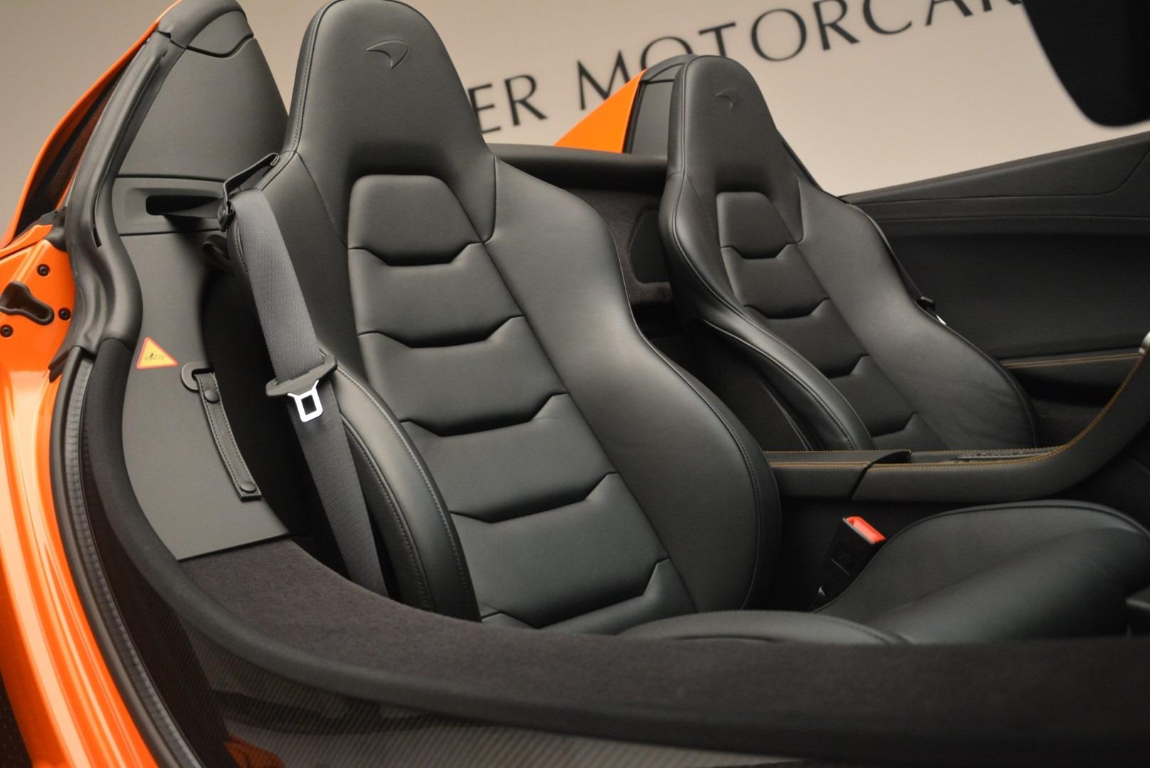 Used 2015 McLaren 650S Spider For Sale In Westport, CT 2338_p27