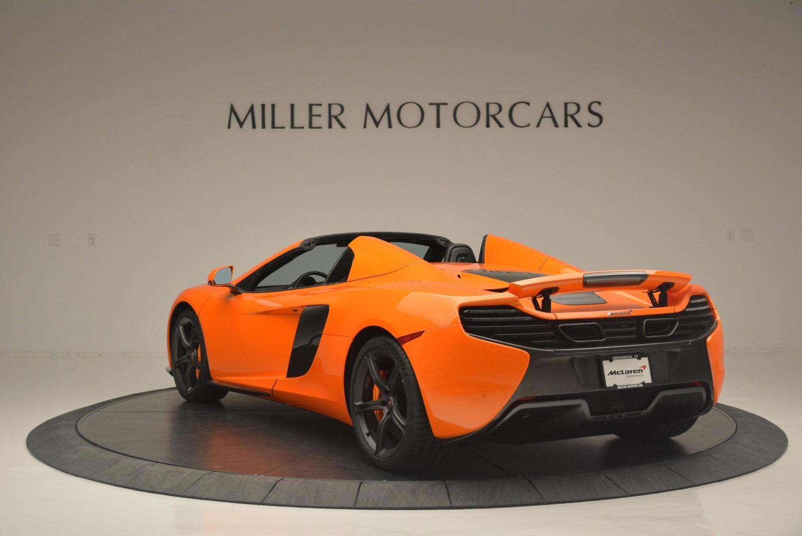 Used 2015 McLaren 650S Spider For Sale In Westport, CT 2338_p5
