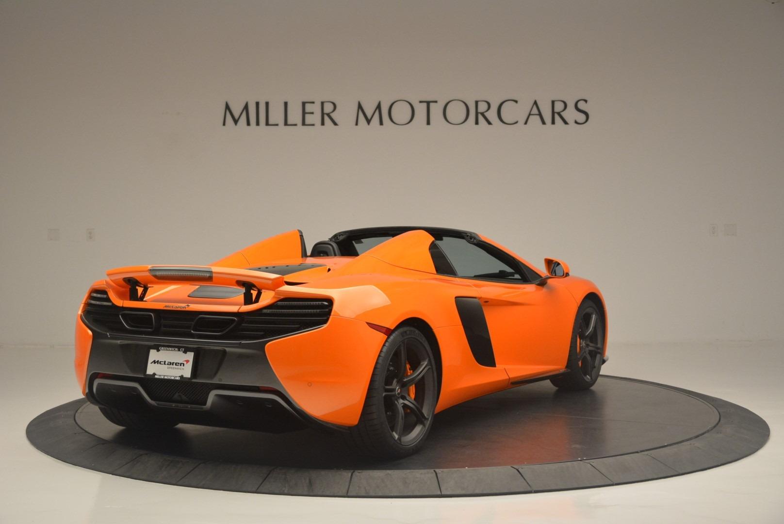 Used 2015 McLaren 650S Spider For Sale In Westport, CT 2338_p7