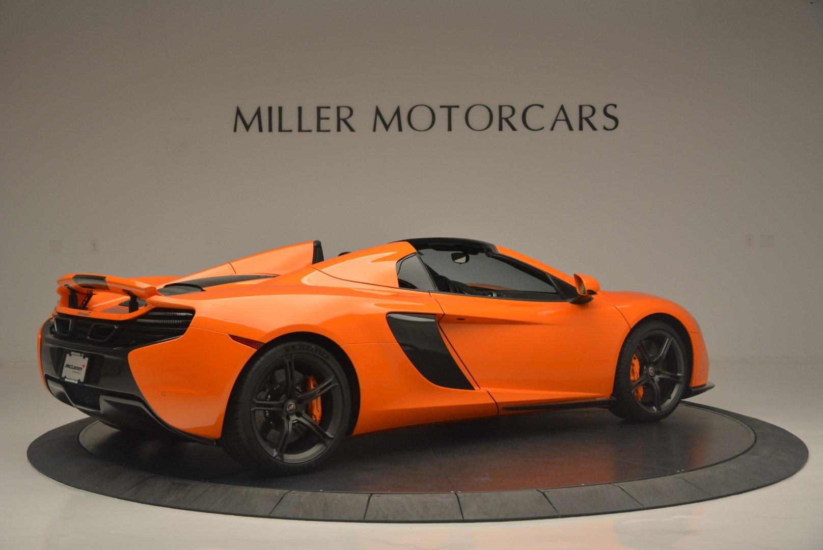 Used 2015 McLaren 650S Spider For Sale In Westport, CT 2338_p8