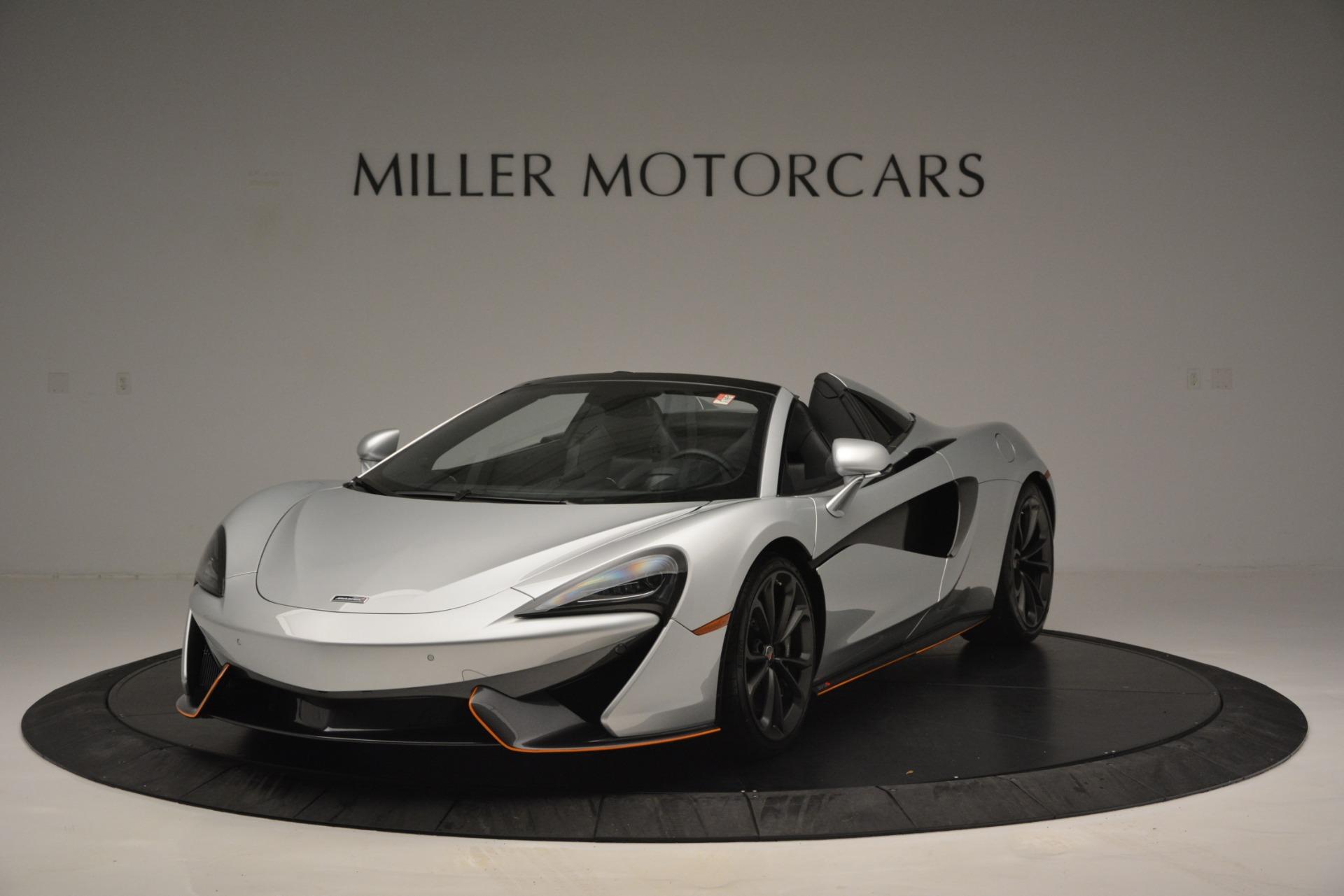 Used 2018 McLaren 570S Spider For Sale In Westport, CT 2340_main