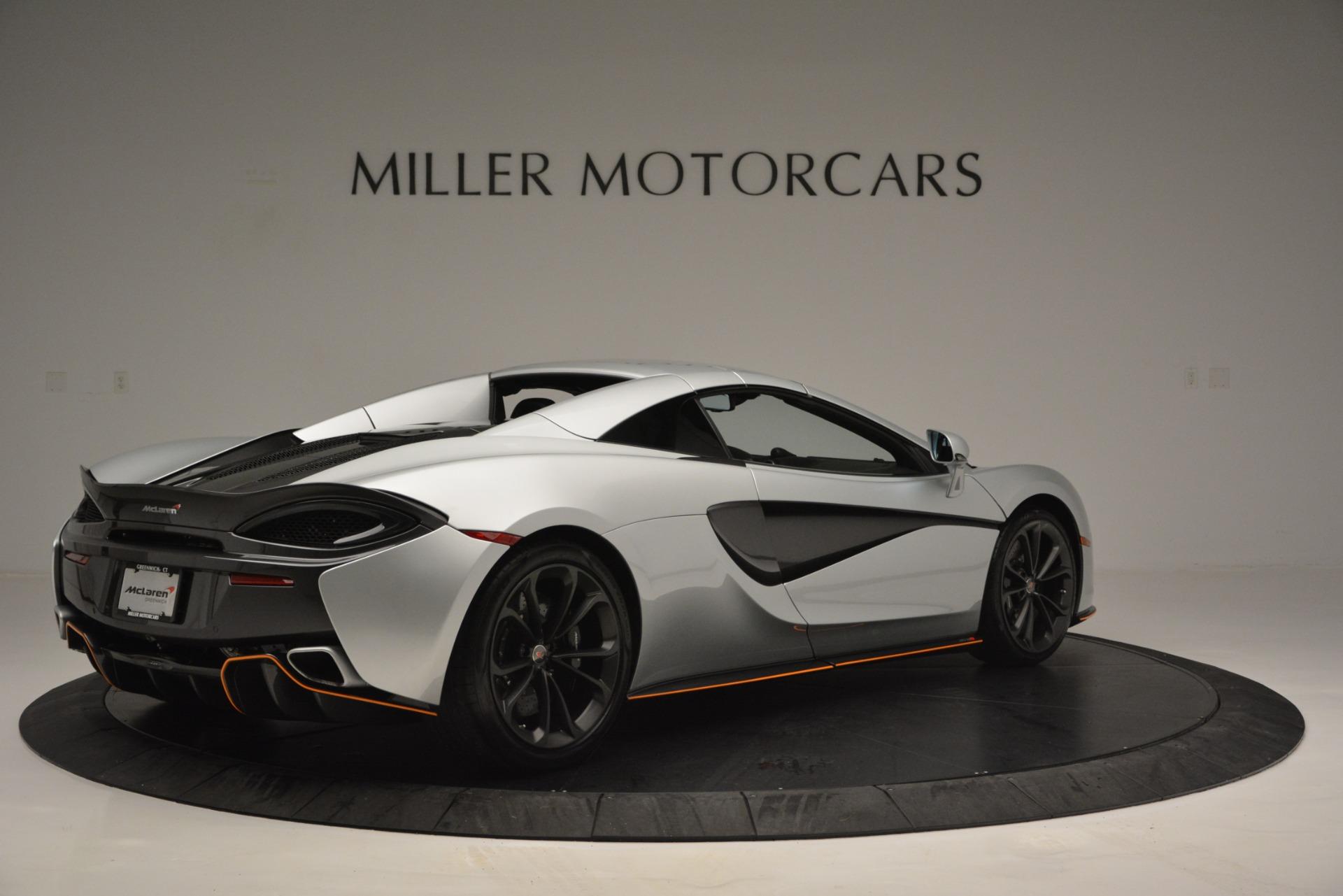 Used 2018 McLaren 570S Spider For Sale In Westport, CT 2340_p19