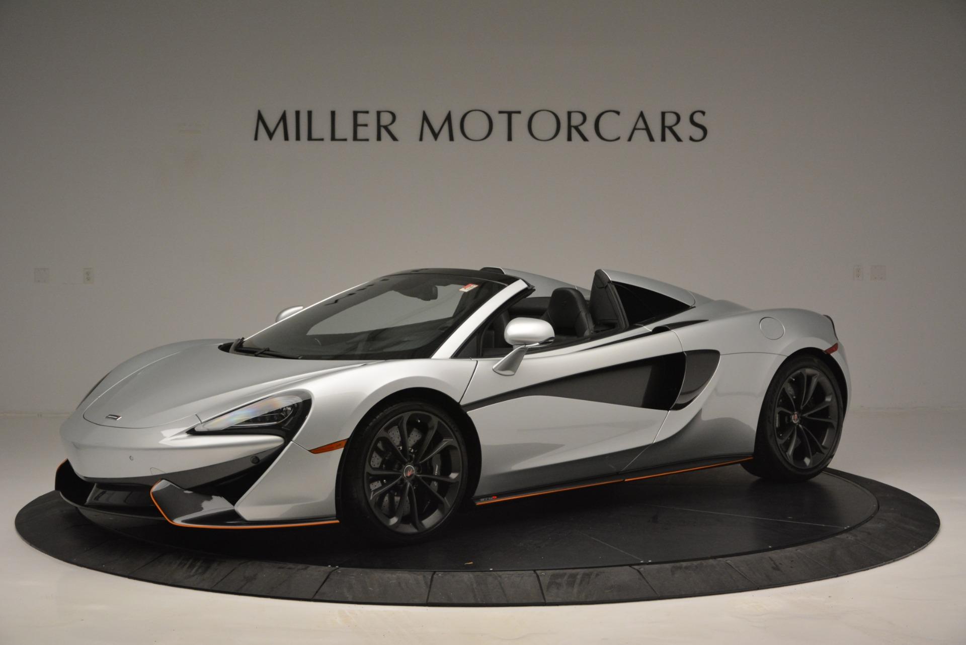 Used 2018 McLaren 570S Spider For Sale In Westport, CT 2340_p2
