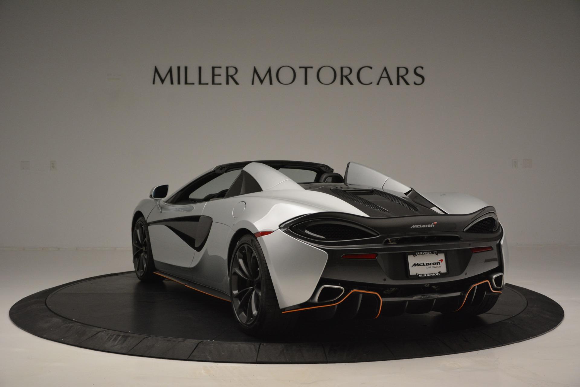 Used 2018 McLaren 570S Spider For Sale In Westport, CT 2340_p5