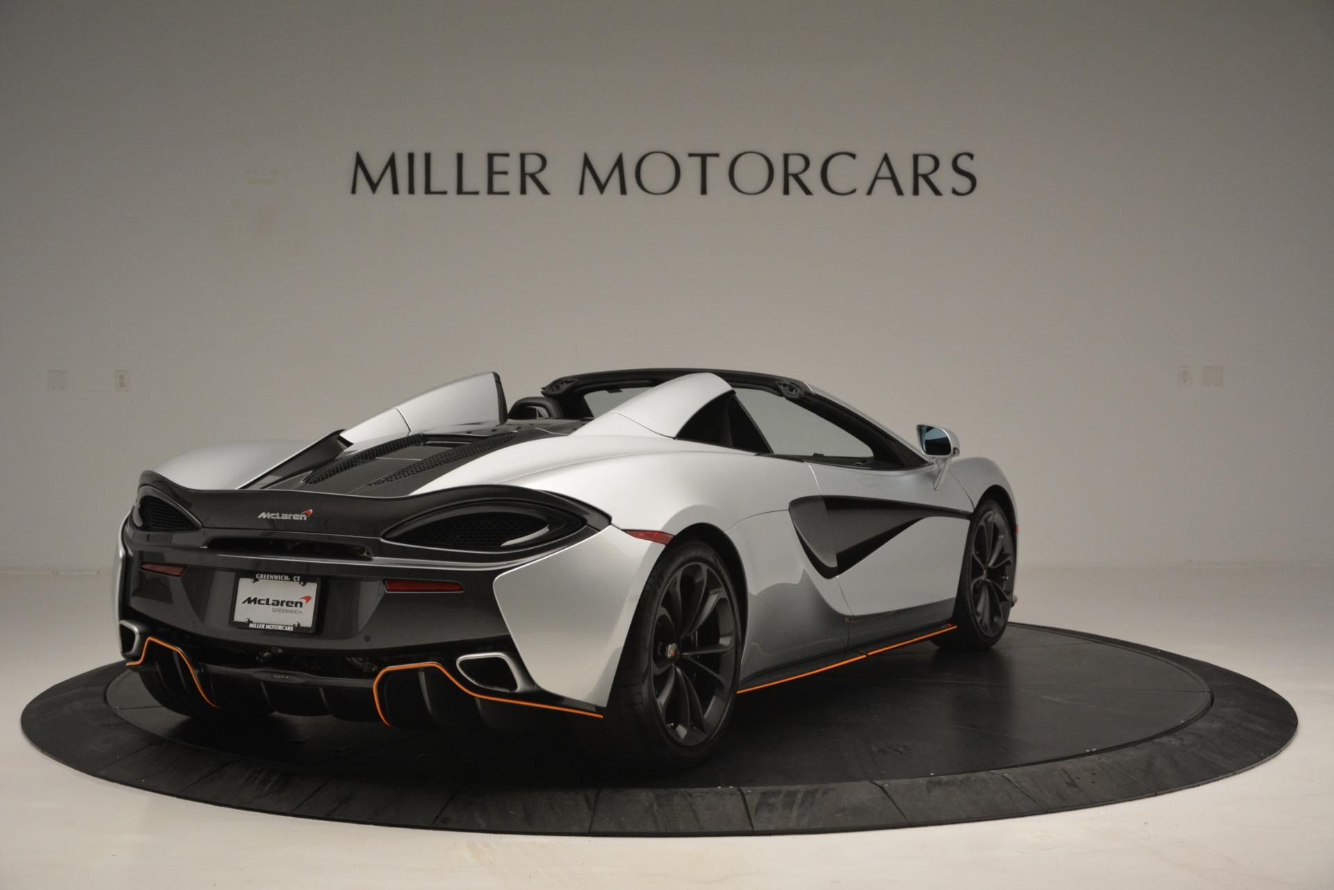 Used 2018 McLaren 570S Spider For Sale In Westport, CT 2340_p7