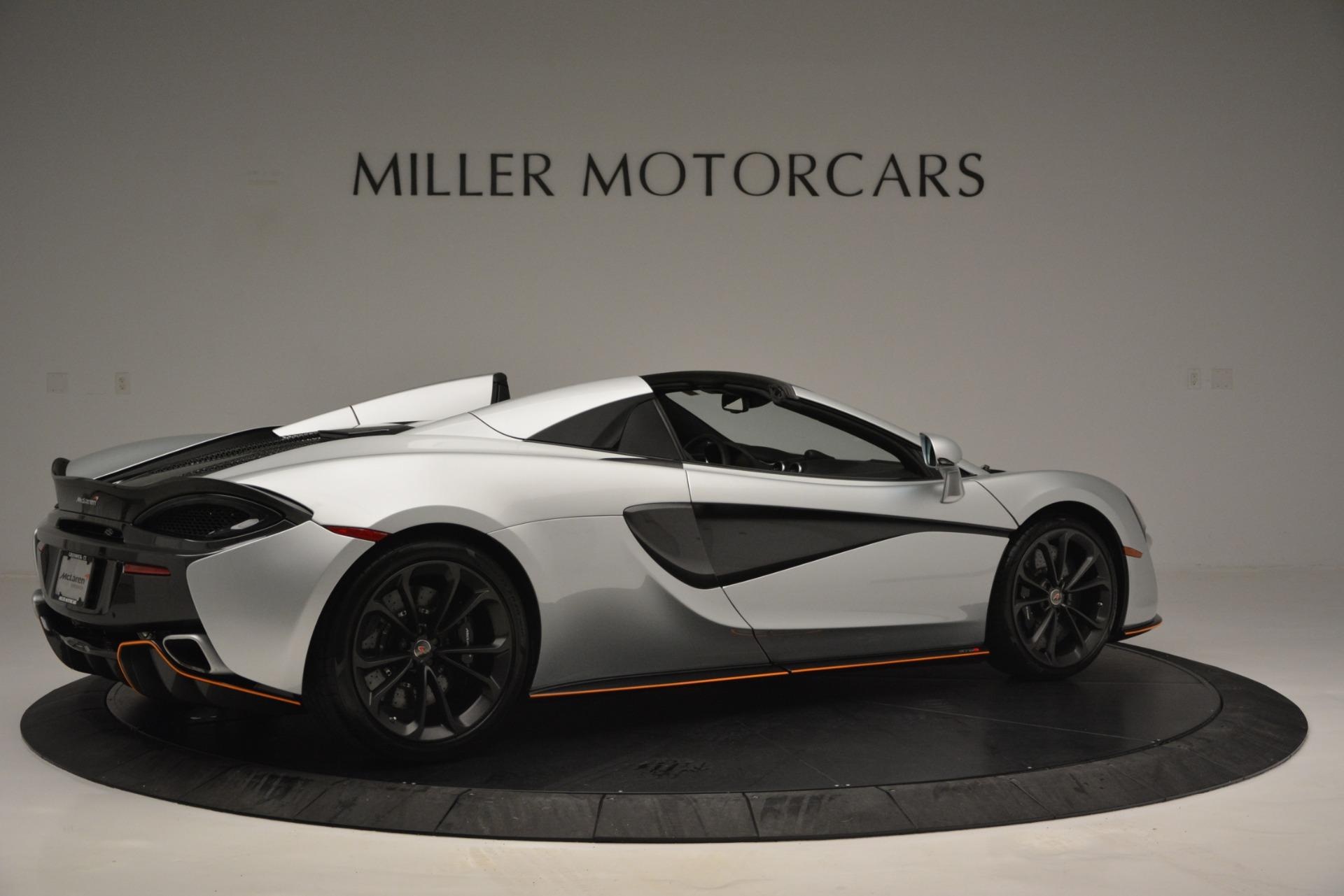 Used 2018 McLaren 570S Spider For Sale In Westport, CT 2340_p8