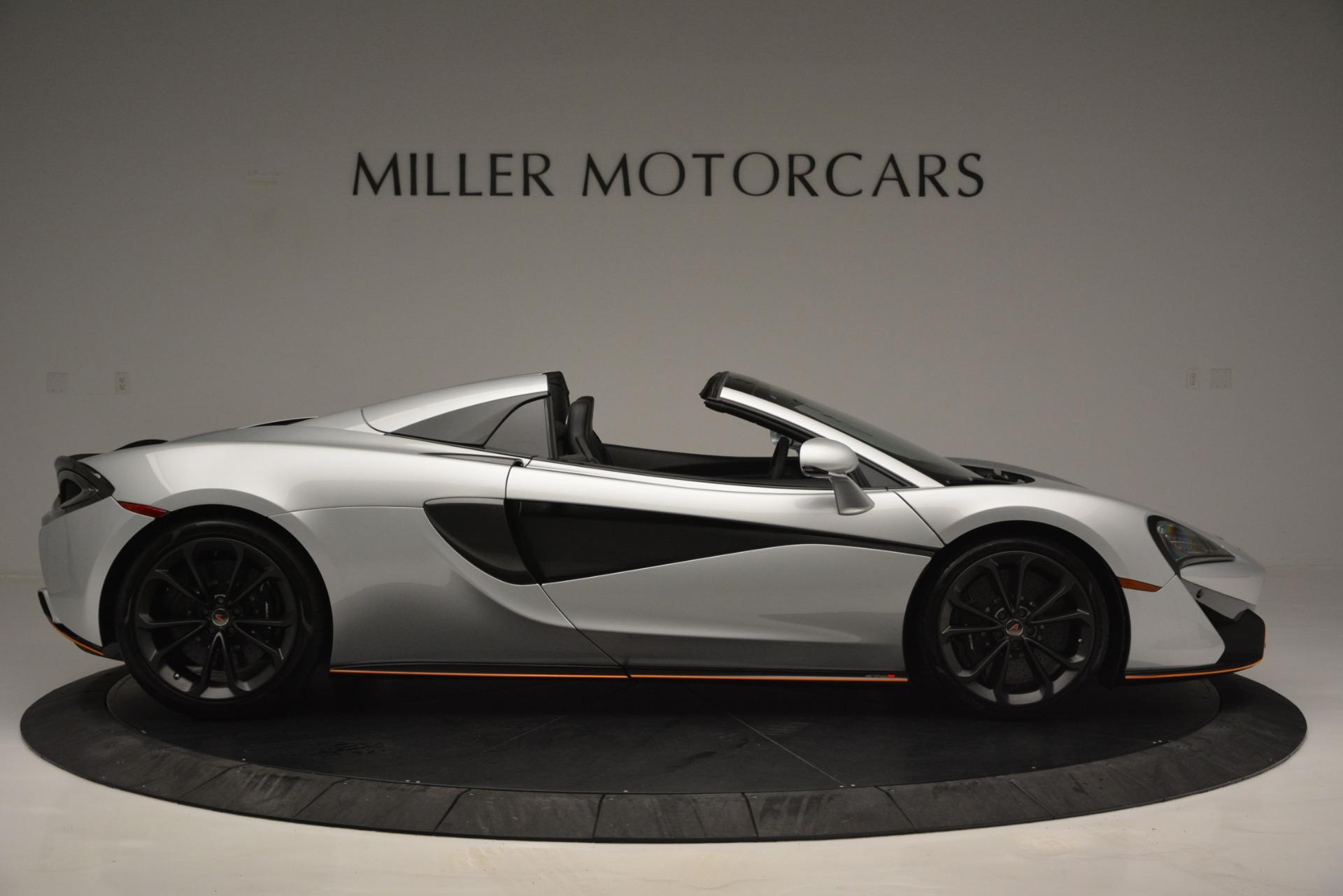 Used 2018 McLaren 570S Spider For Sale In Westport, CT 2340_p9