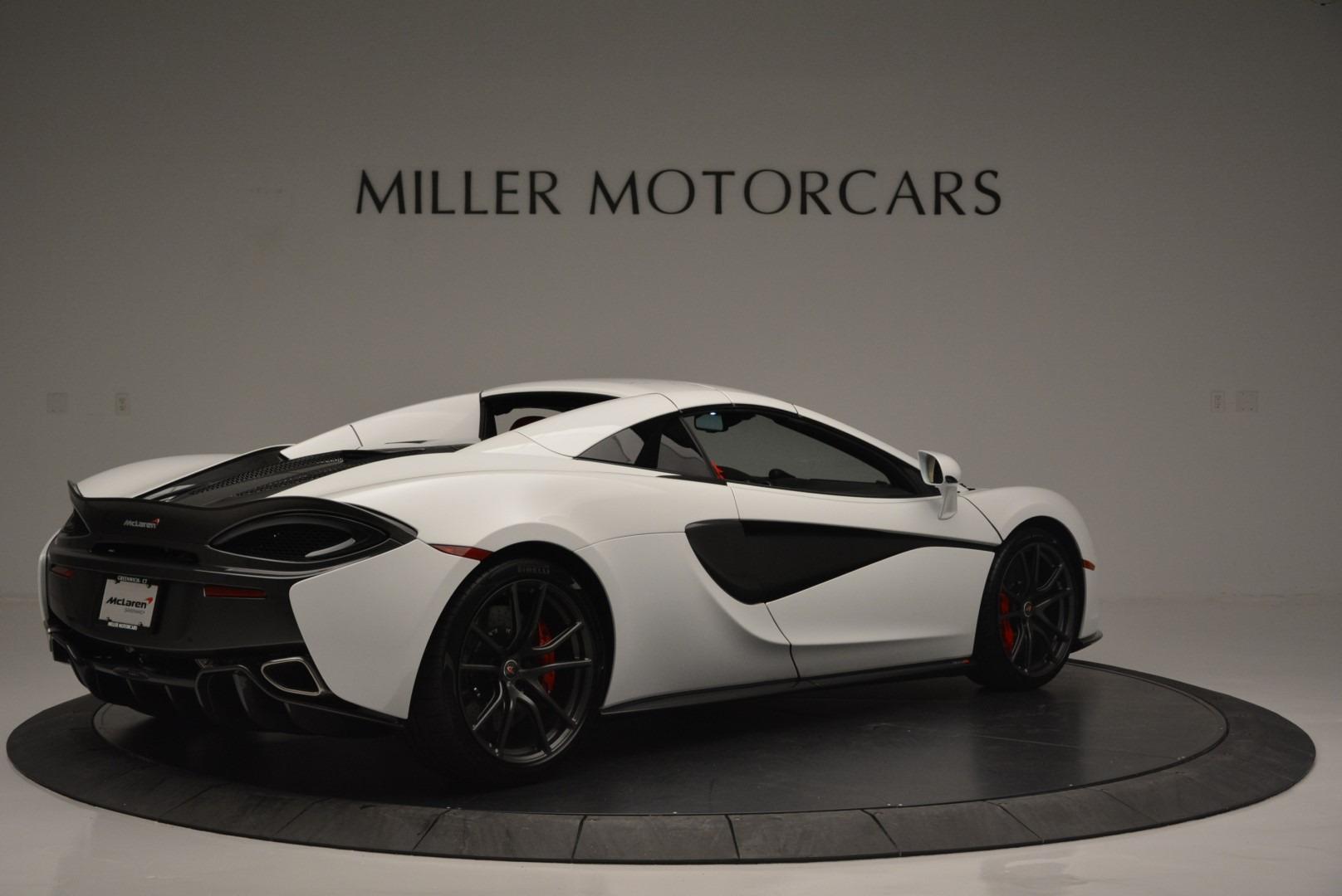 Used 2018 McLaren 570S Spider For Sale In Westport, CT 2341_p18