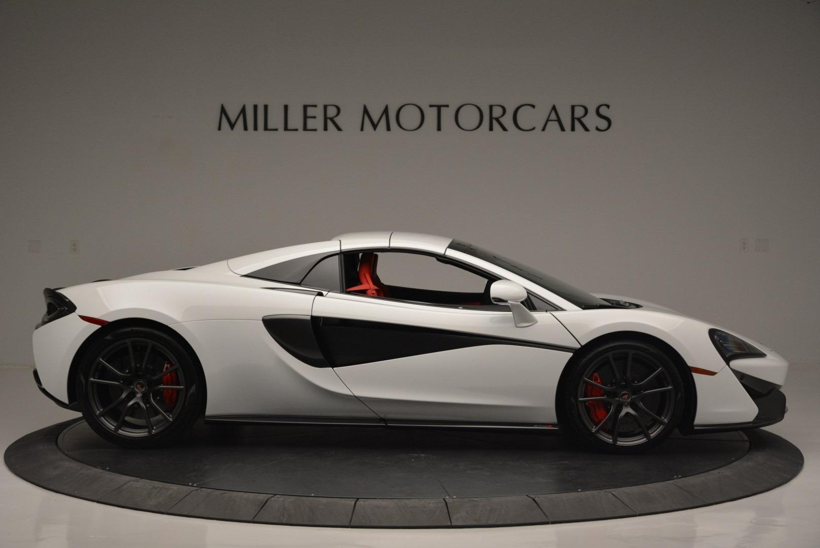 Used 2018 McLaren 570S Spider For Sale In Westport, CT 2341_p19