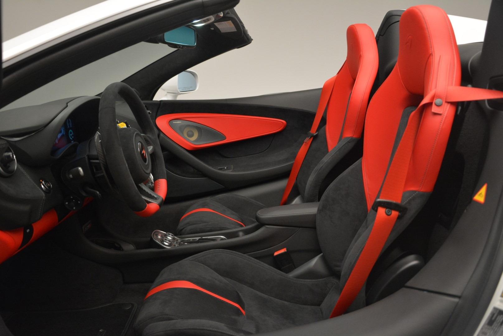 Used 2018 McLaren 570S Spider For Sale In Westport, CT 2341_p23