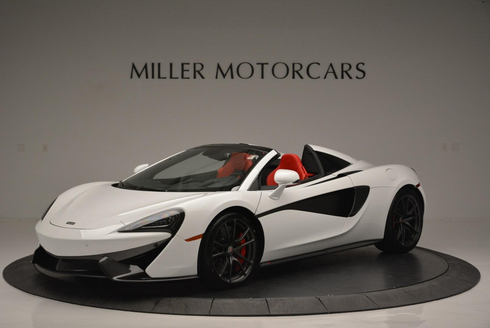 Used 2018 McLaren 570S Spider For Sale In Westport, CT 2341_p2