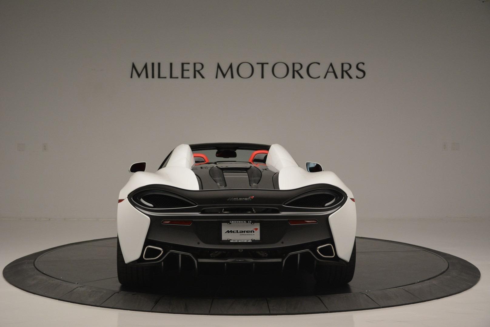 Used 2018 McLaren 570S Spider For Sale In Westport, CT 2341_p6