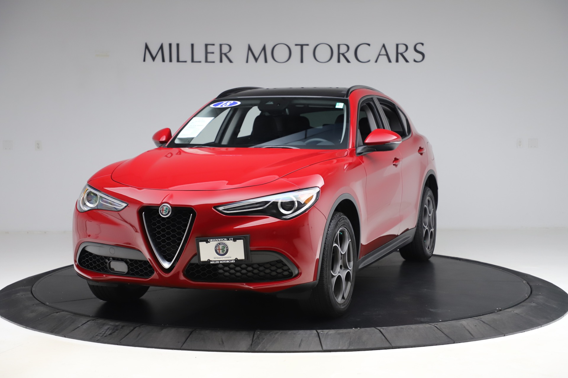 New 2018 Alfa Romeo Stelvio Sport Q4 For Sale In Westport, CT 2342_main