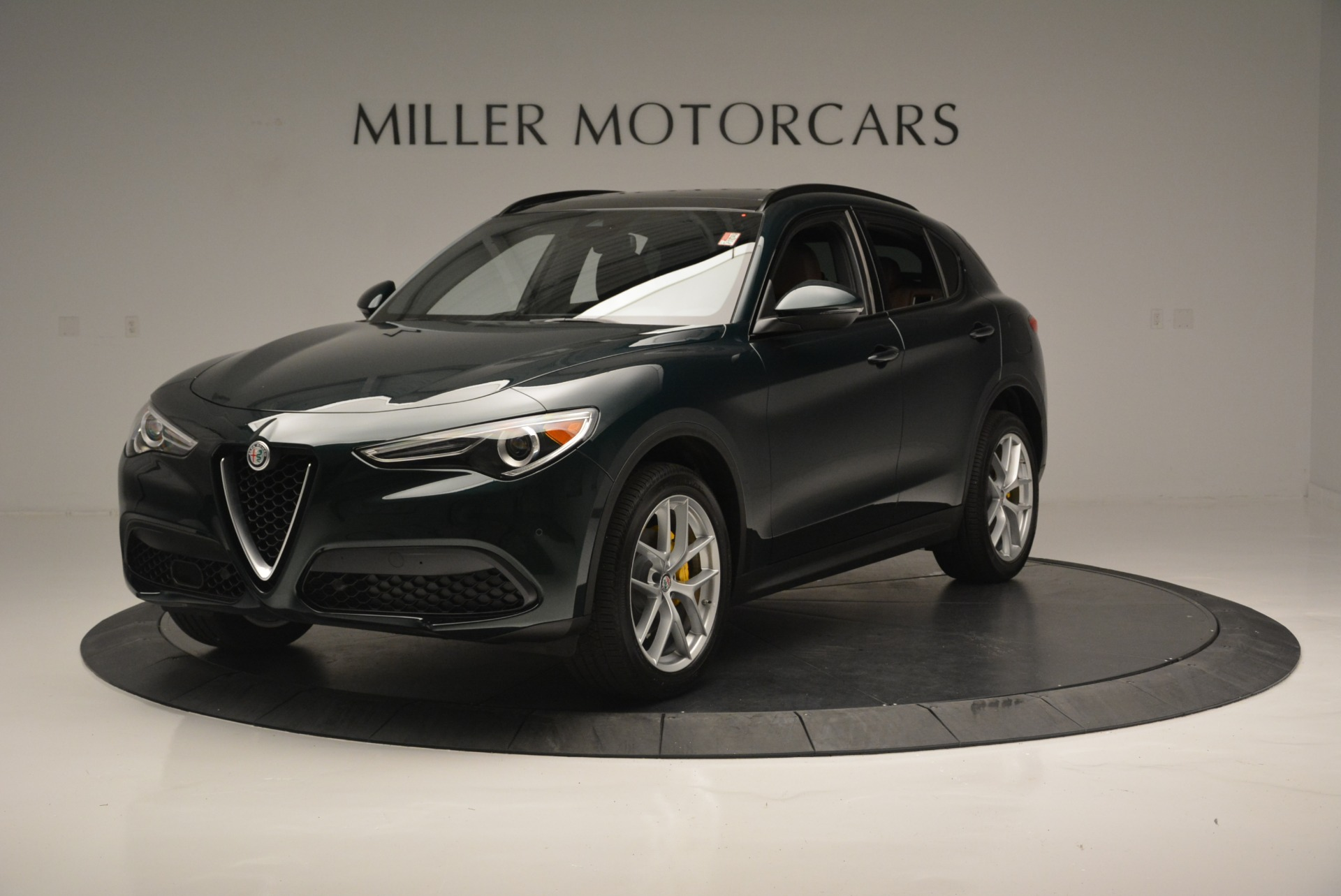 New 2018 Alfa Romeo Stelvio Ti Sport Q4 For Sale In Westport, CT 2353_p2