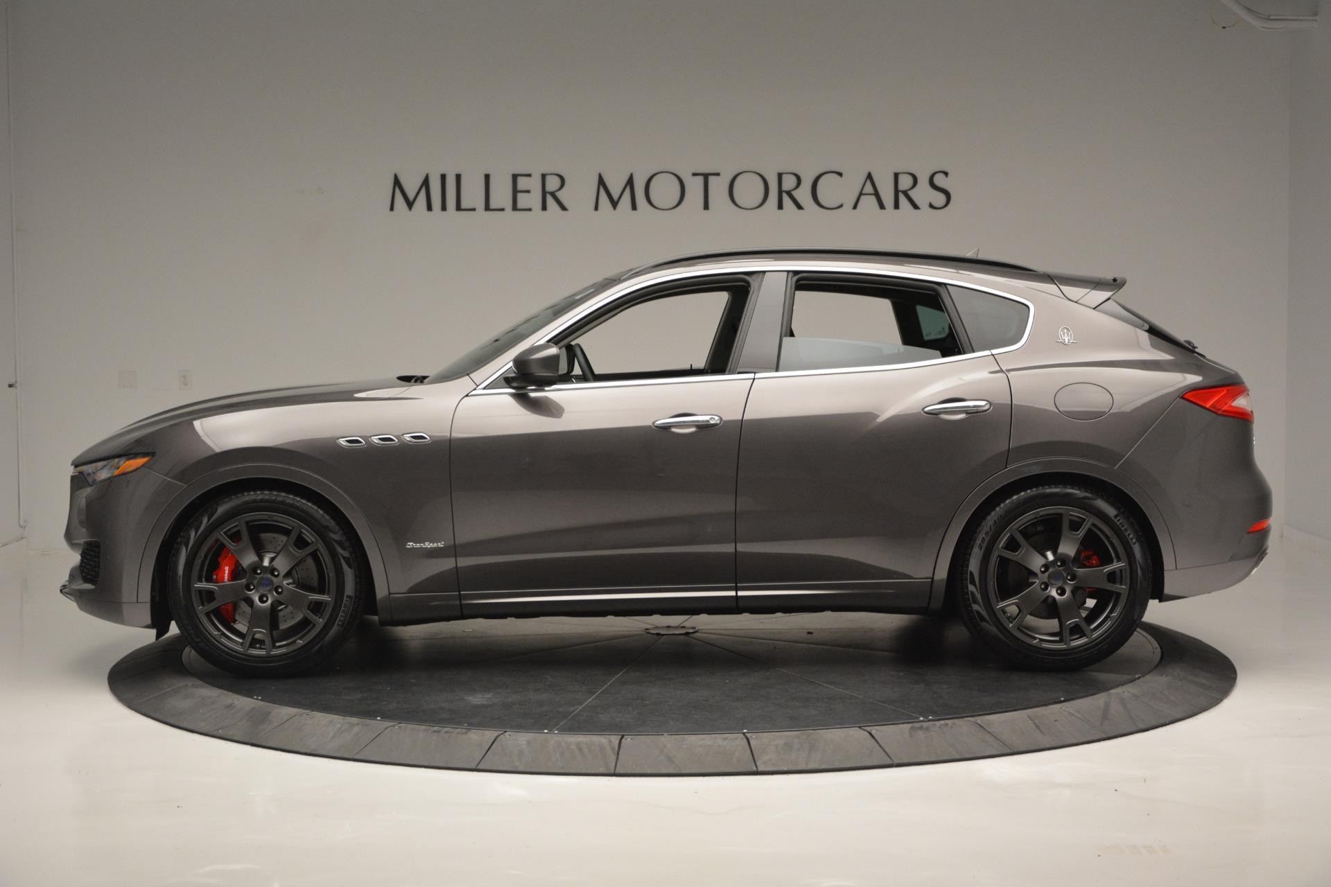 New 2018 Maserati Levante S Q4 GranSport For Sale In Westport, CT 2360_p3