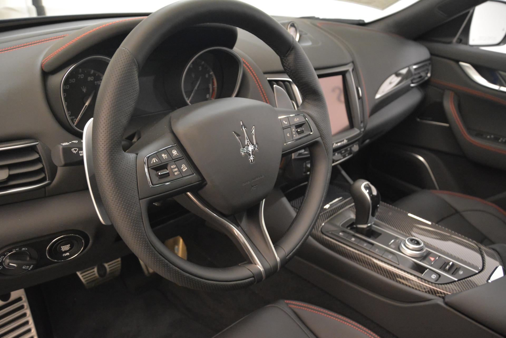 New 2018 Maserati Levante S Q4 GranSport For Sale In Westport, CT 2362_p17