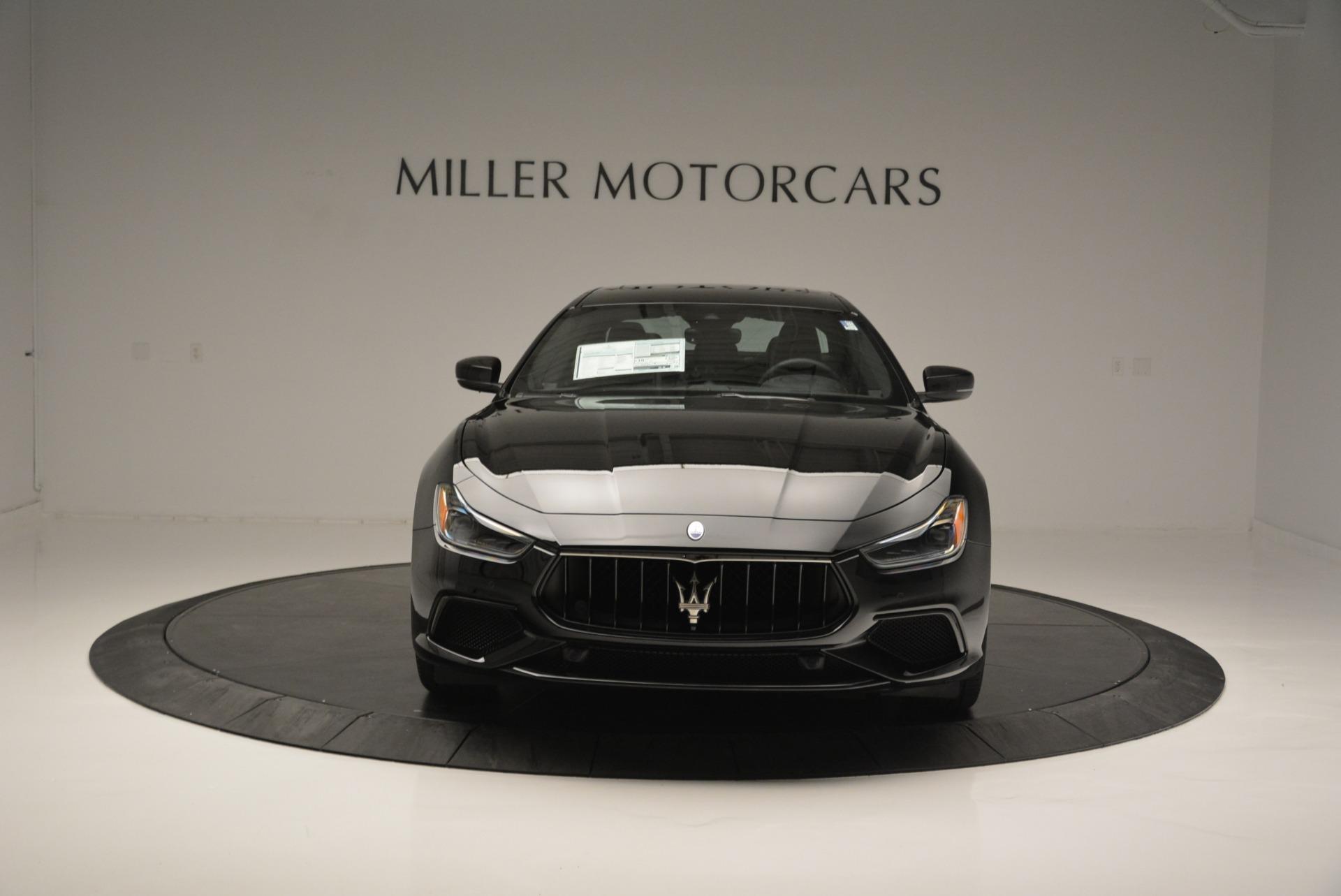New 2018 Maserati Ghibli SQ4 GranSport Nerissimo For Sale In Westport, CT 2366_p12