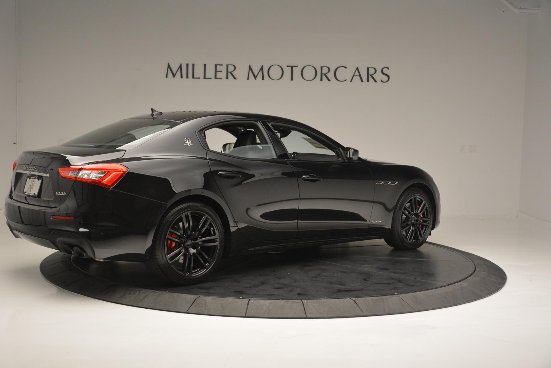 New 2018 Maserati Ghibli SQ4 GranSport Nerissimo For Sale In Westport, CT 2366_p8