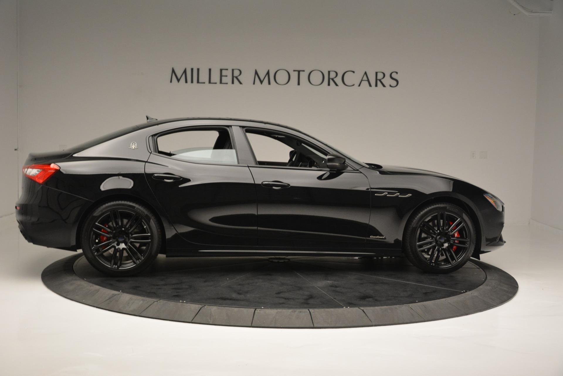 New 2018 Maserati Ghibli SQ4 GranSport Nerissimo For Sale In Westport, CT 2368_p9