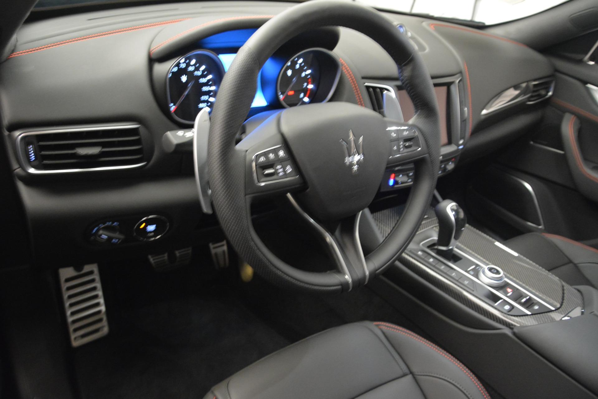 New 2018 Maserati Levante S Q4 GranSport Nerissimo For Sale In Westport, CT 2370_p13