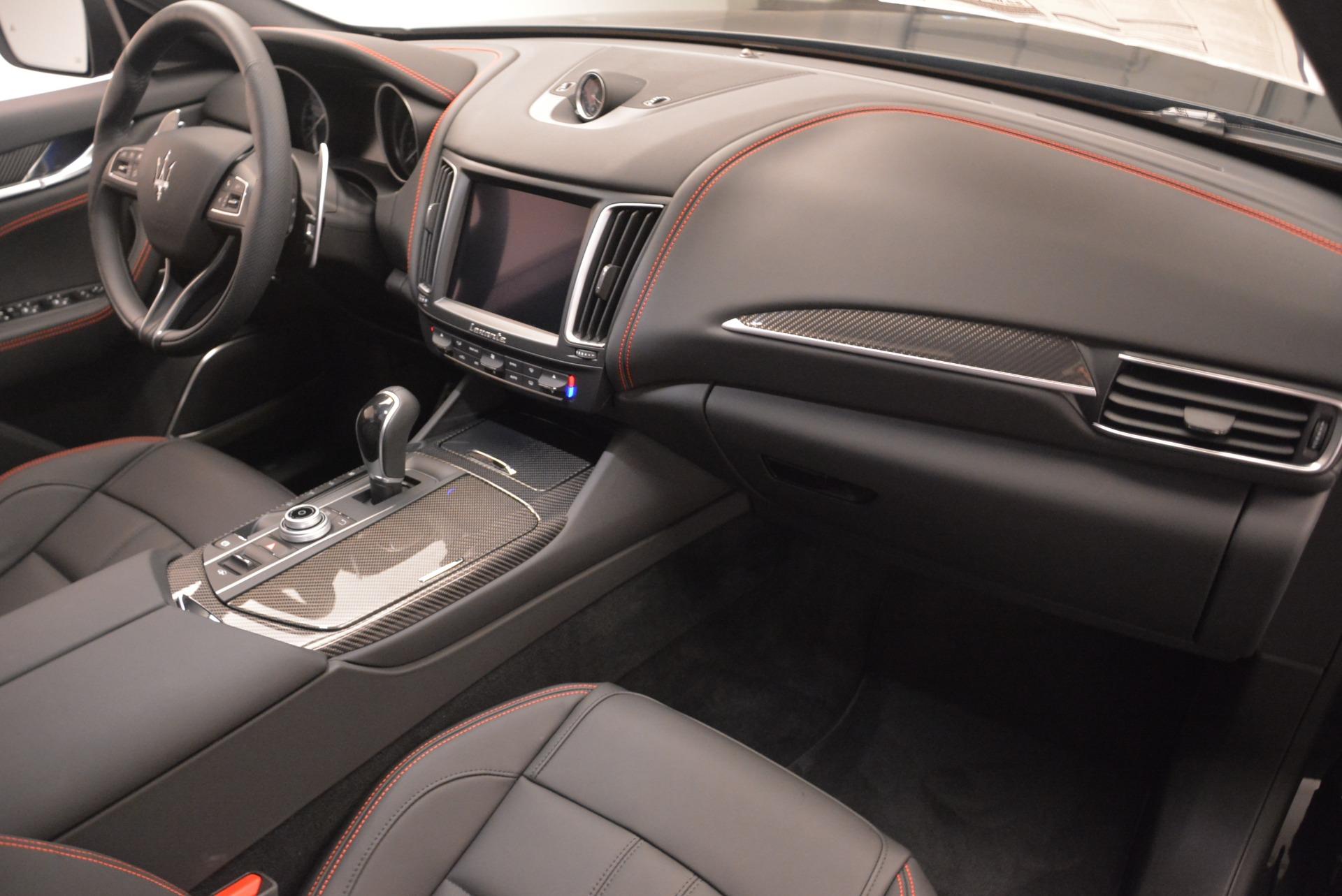 New 2018 Maserati Levante S Q4 GranSport Nerissimo For Sale In Westport, CT 2370_p19