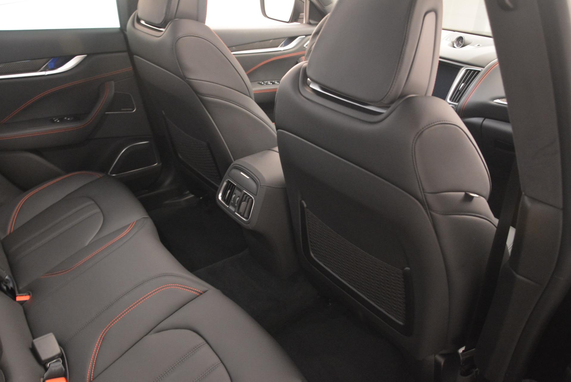 New 2018 Maserati Levante S Q4 GranSport Nerissimo For Sale In Westport, CT 2370_p22