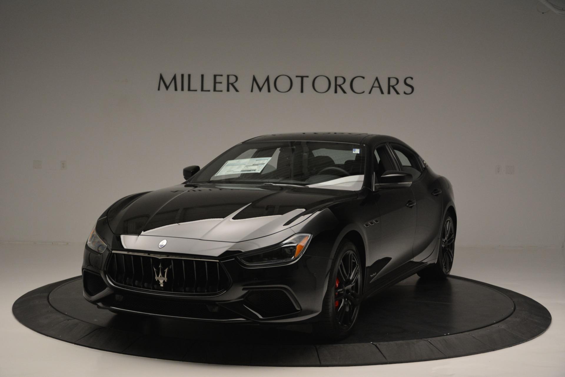 New 2018 Maserati Ghibli SQ4 GranSport Nerissimo For Sale In Westport, CT 2372_main