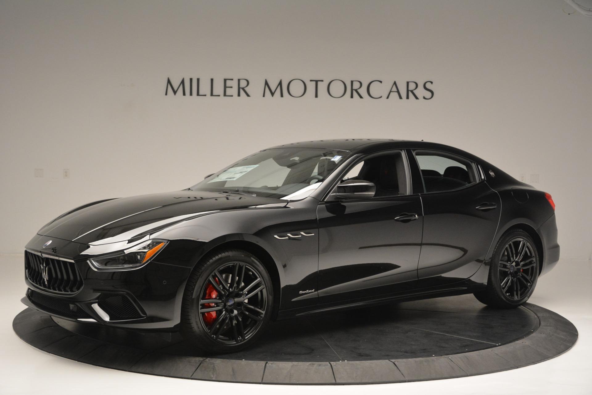 New 2018 Maserati Ghibli SQ4 GranSport Nerissimo For Sale In Westport, CT 2372_p2