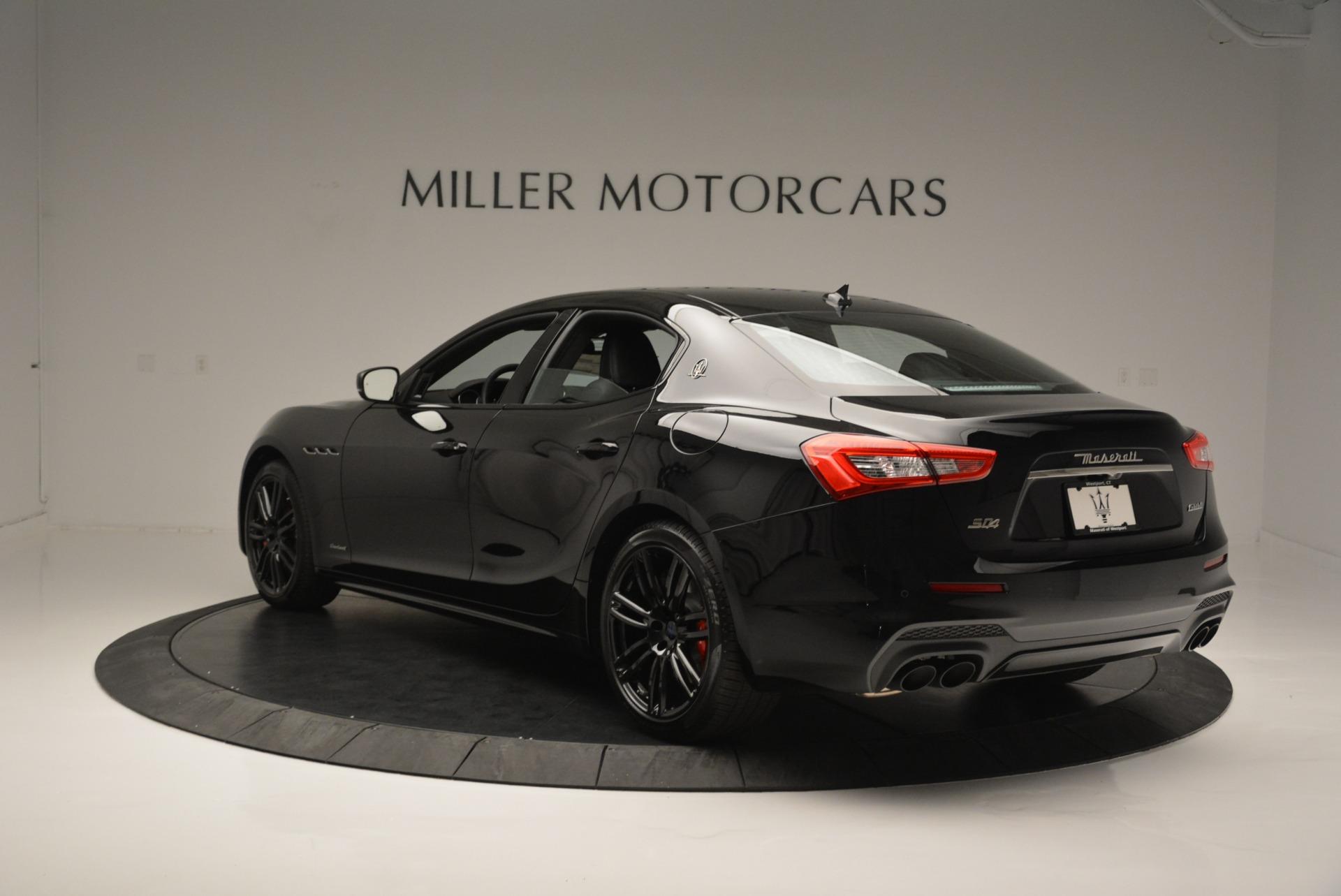 New 2018 Maserati Ghibli SQ4 GranSport Nerissimo For Sale In Westport, CT 2372_p5