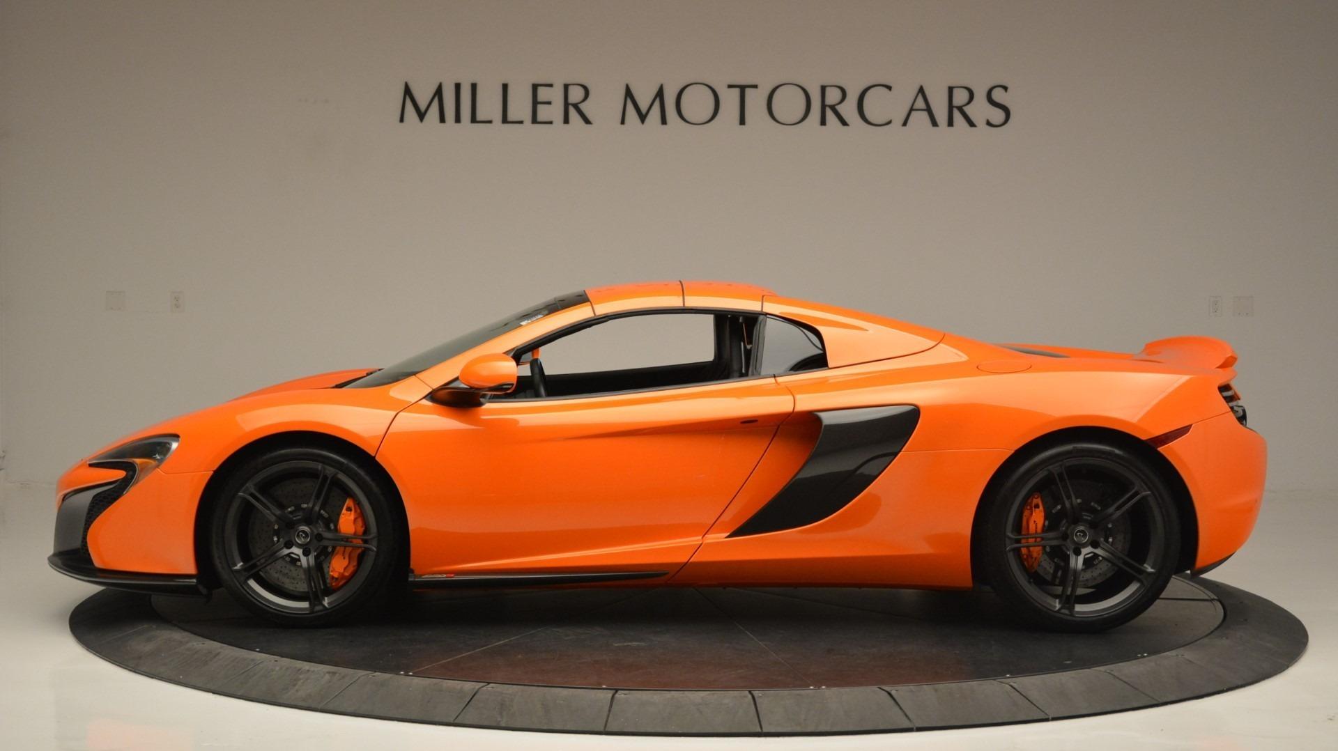 Used 2015 McLaren 650S Spider Convertible For Sale In Westport, CT 2375_p16