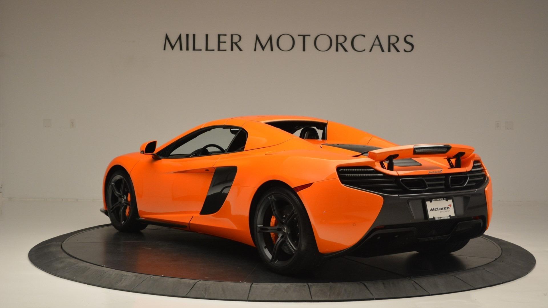Used 2015 McLaren 650S Spider Convertible For Sale In Westport, CT 2375_p17