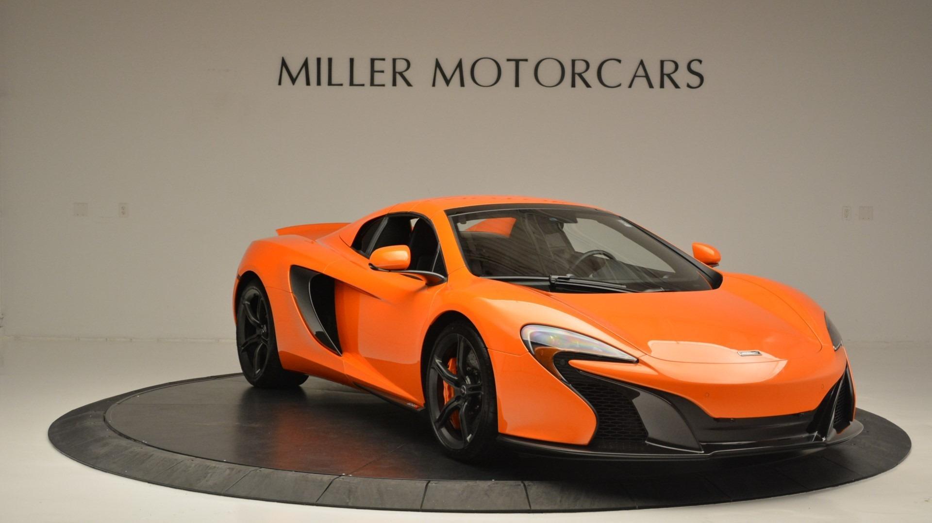 Used 2015 McLaren 650S Spider Convertible For Sale In Westport, CT 2375_p21