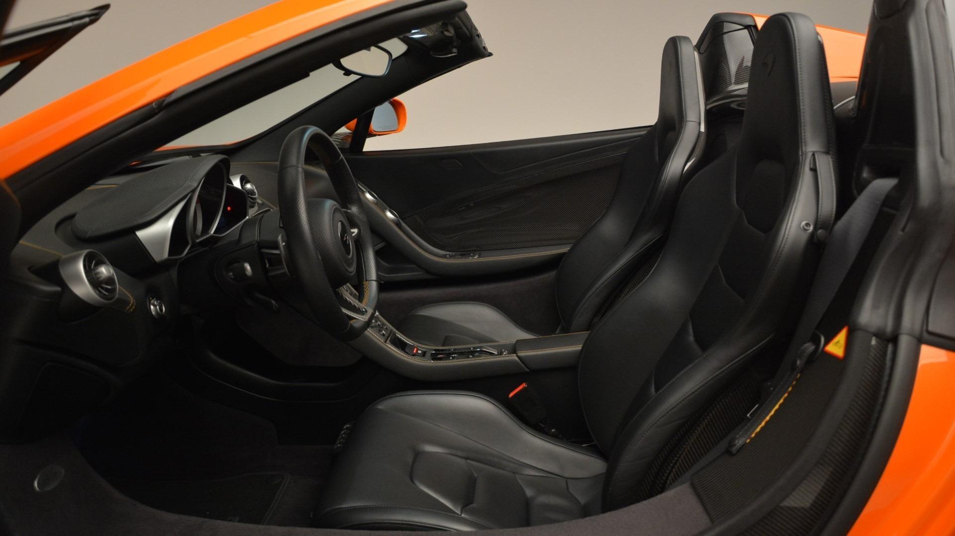 Used 2015 McLaren 650S Spider Convertible For Sale In Westport, CT 2375_p22