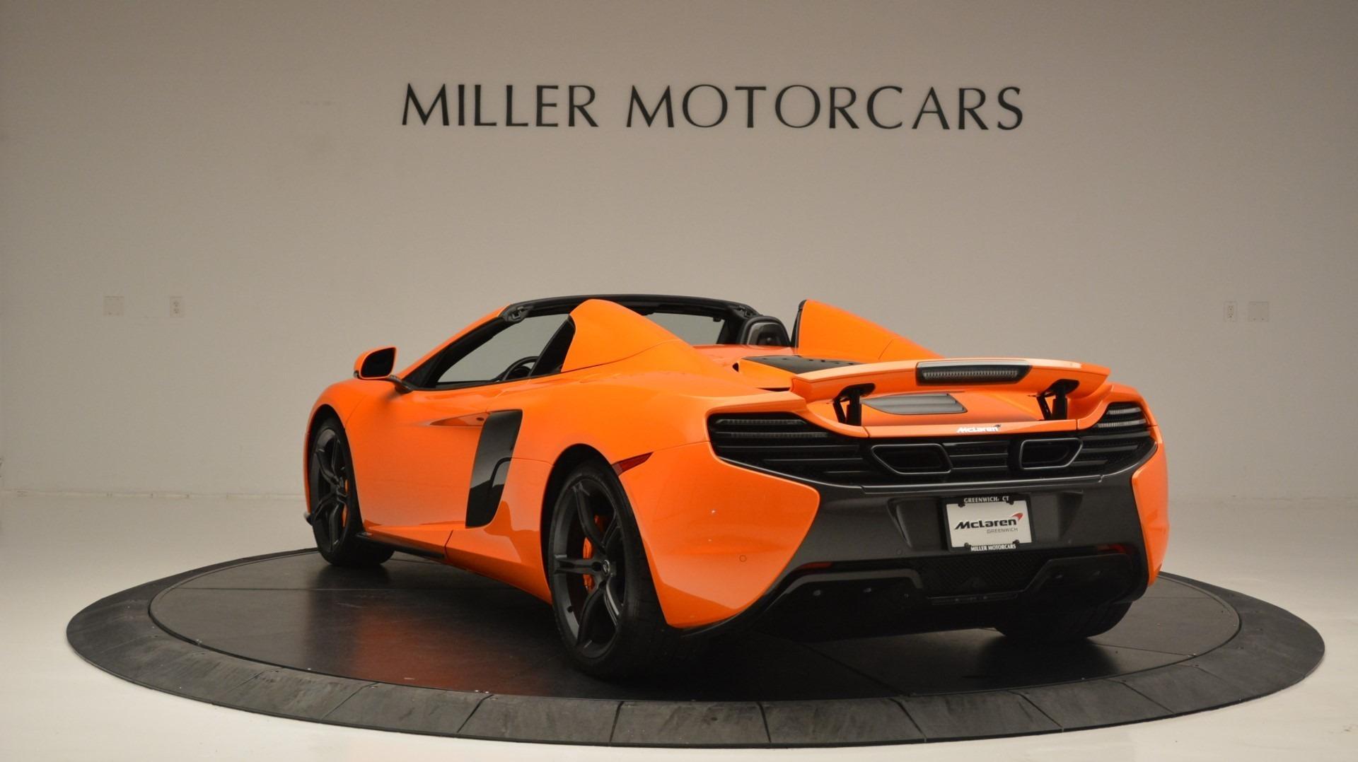Used 2015 McLaren 650S Spider Convertible For Sale In Westport, CT 2375_p5