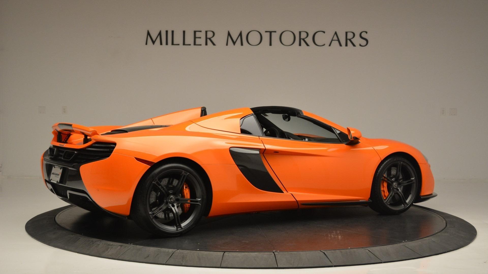Used 2015 McLaren 650S Spider Convertible For Sale In Westport, CT 2375_p8