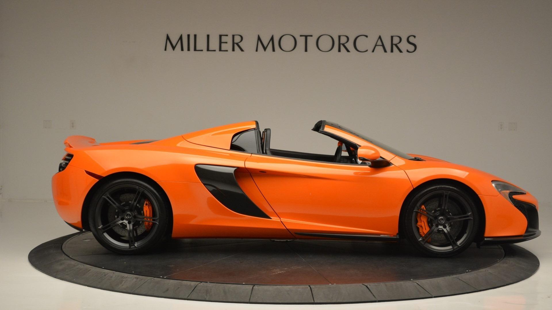 Used 2015 McLaren 650S Spider Convertible For Sale In Westport, CT 2375_p9